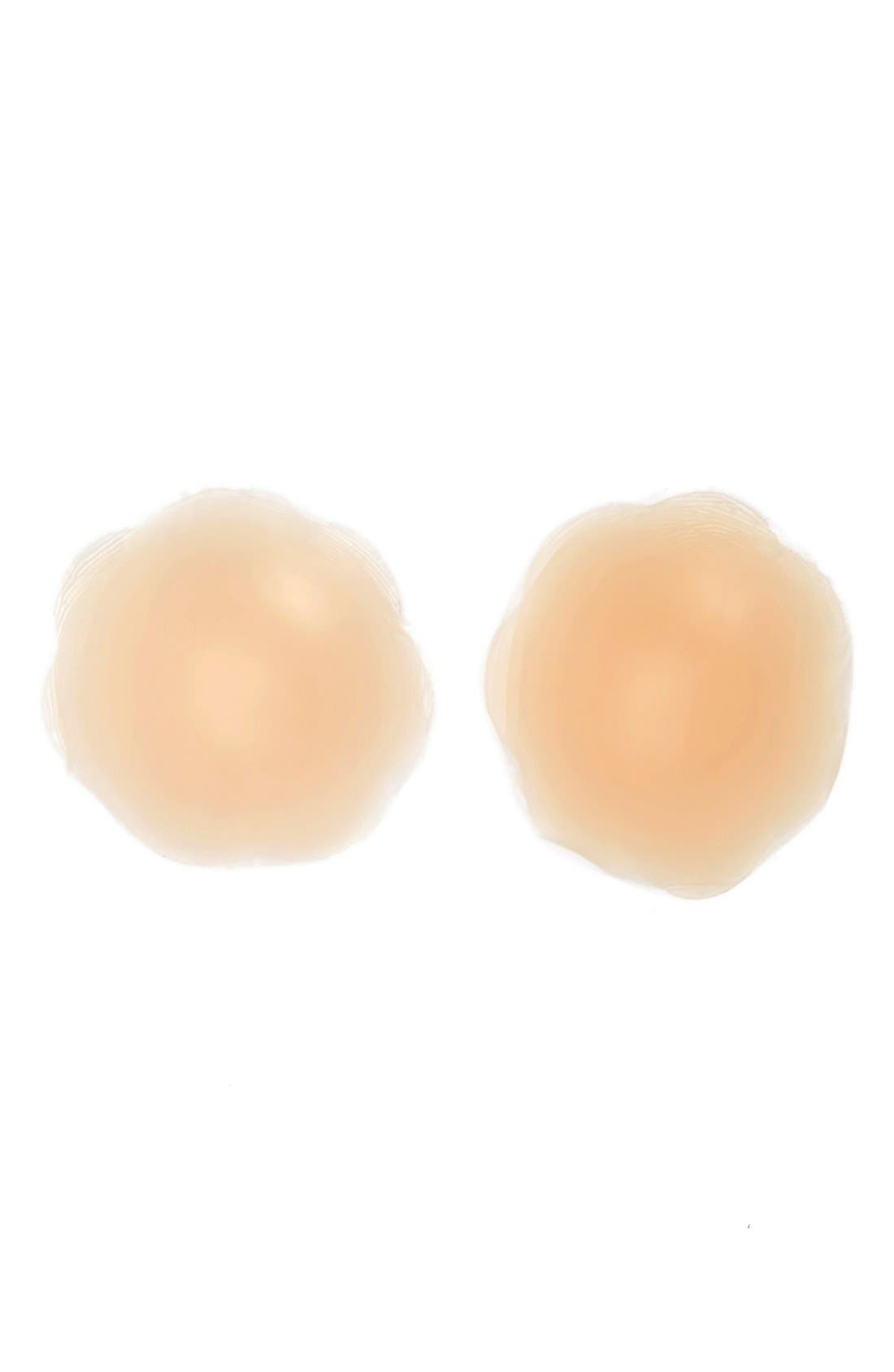 Silicone Gel Breast Petals,                             Alternate thumbnail 3, color,                             NUDE