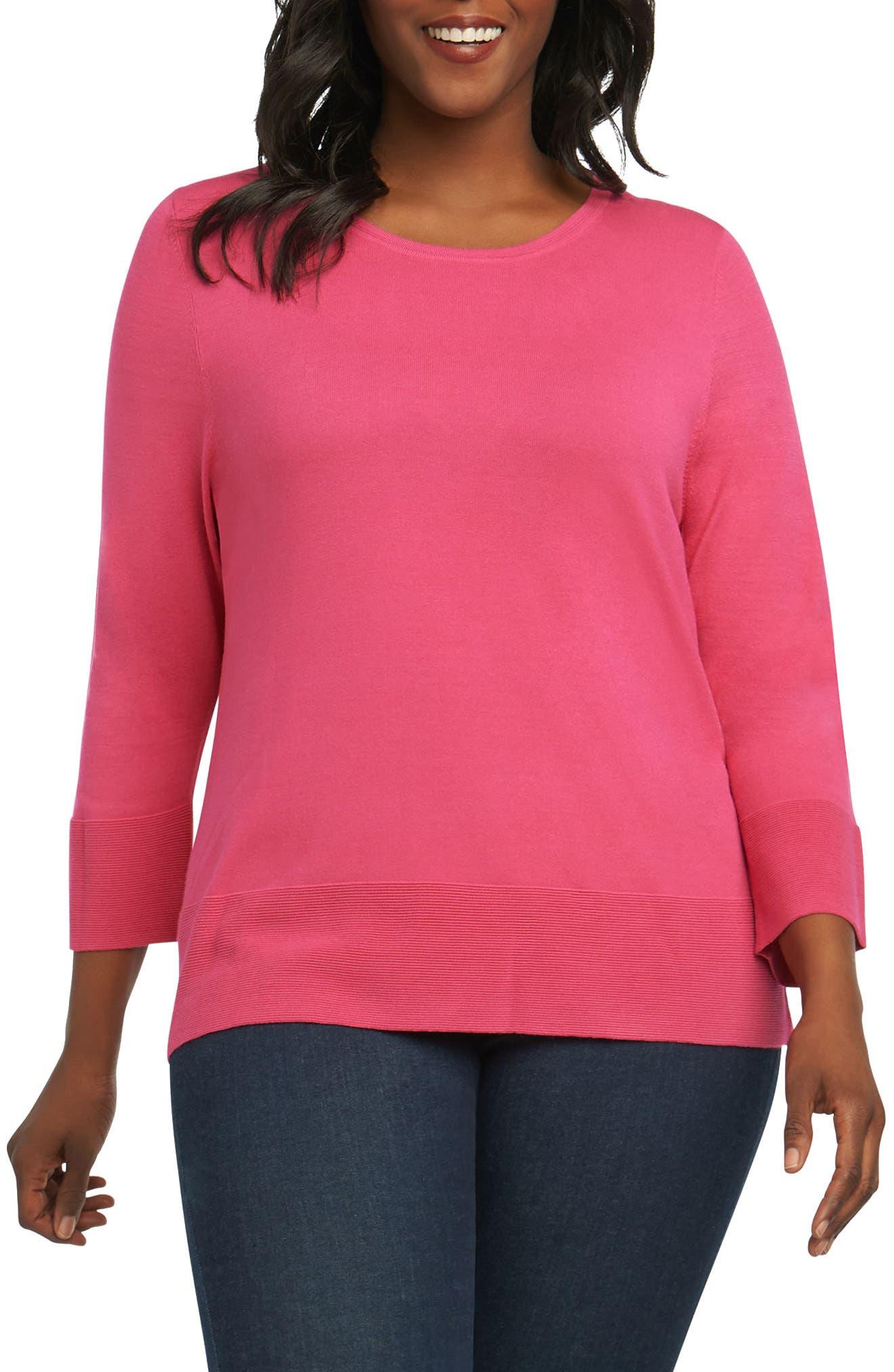 Leda Ottoman Rib Sweater,                             Main thumbnail 2, color,
