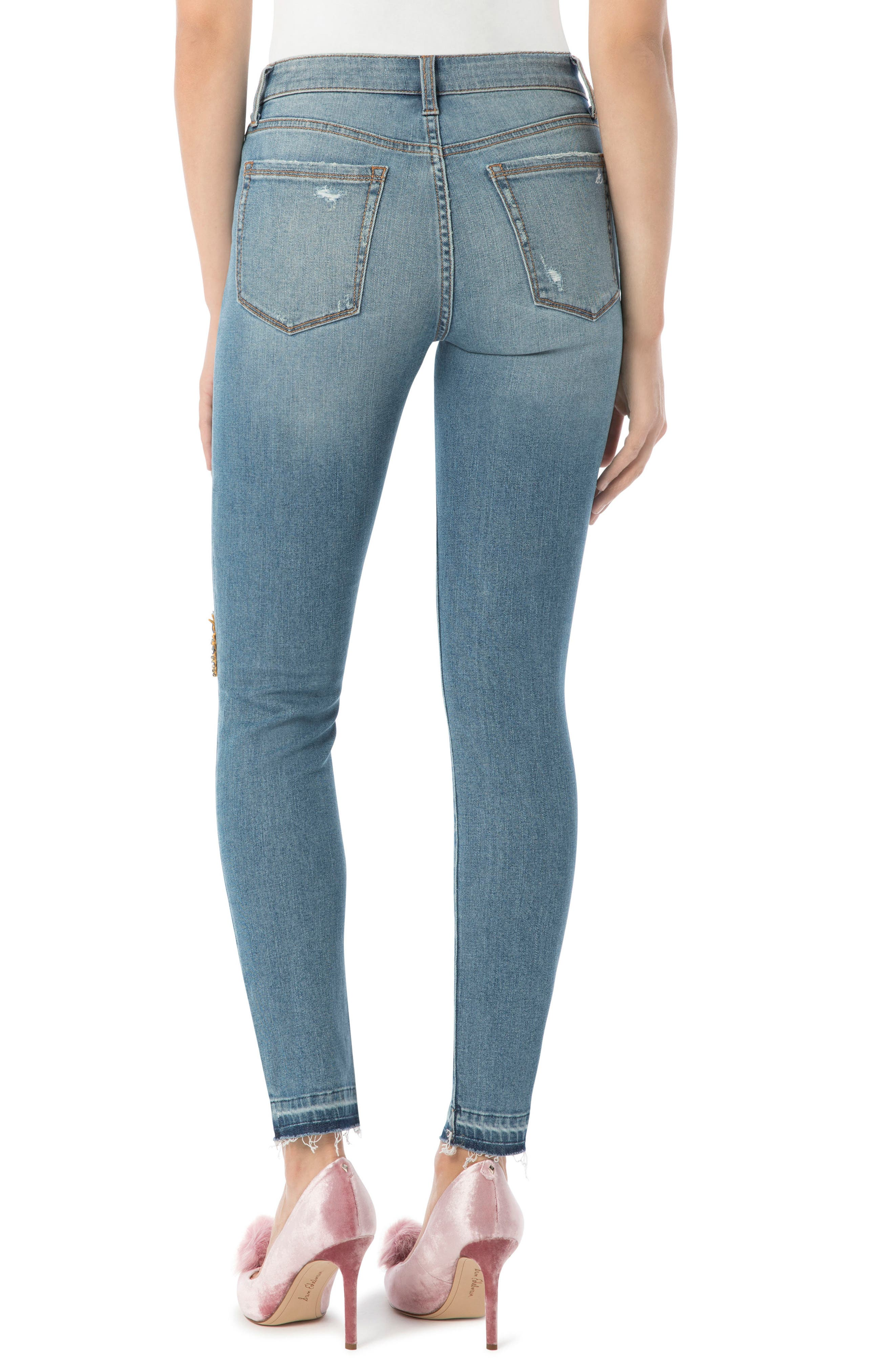 The Stiletto High Rise Skinny Jean,                             Alternate thumbnail 2, color,                             415