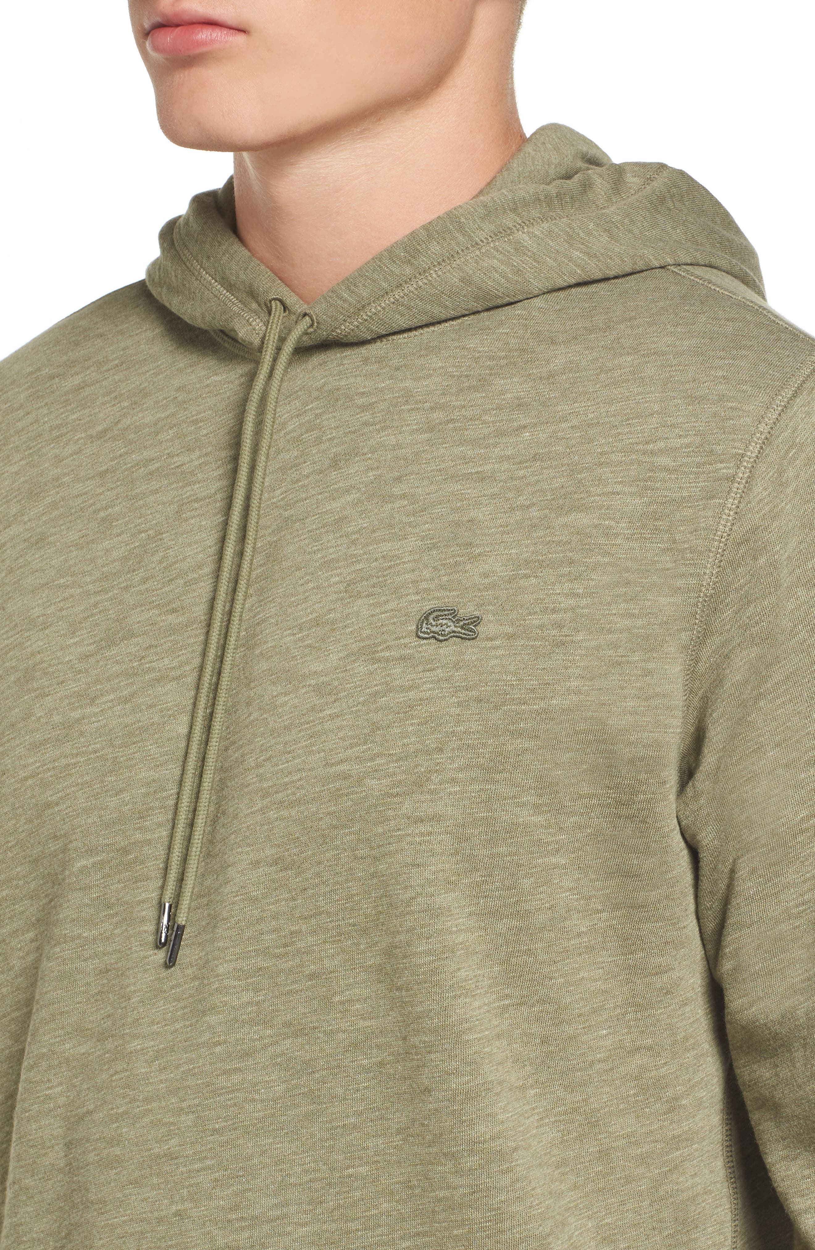 Brushed Fleece Hoodie,                             Alternate thumbnail 4, color,                             028