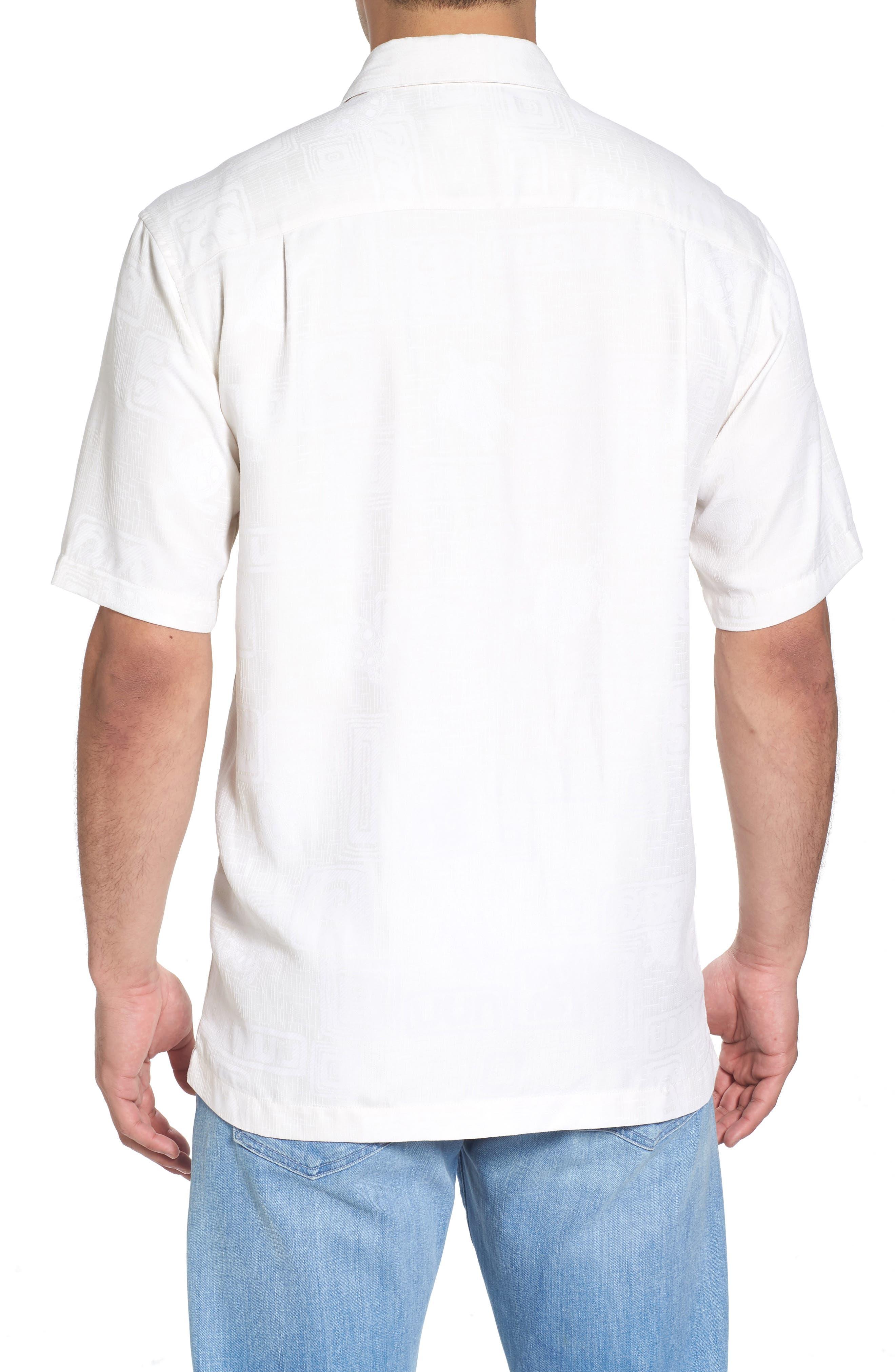 Sea Shells Classic Fit Sport Shirt,                             Alternate thumbnail 5, color,