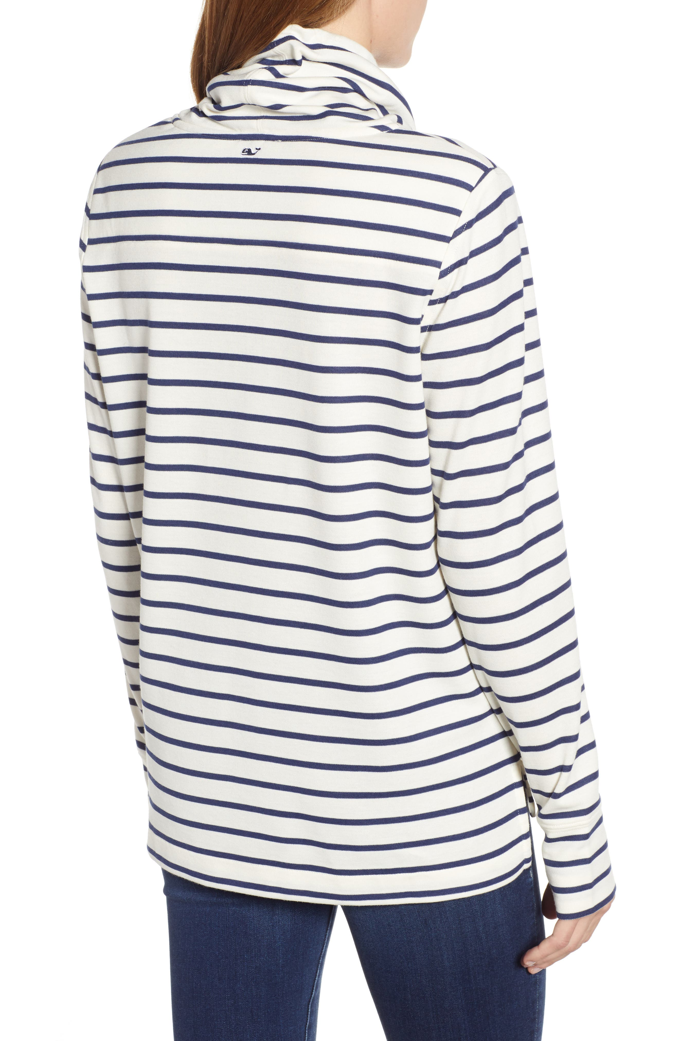Relaxed Fit Stripe Pullover,                             Alternate thumbnail 2, color,                             907