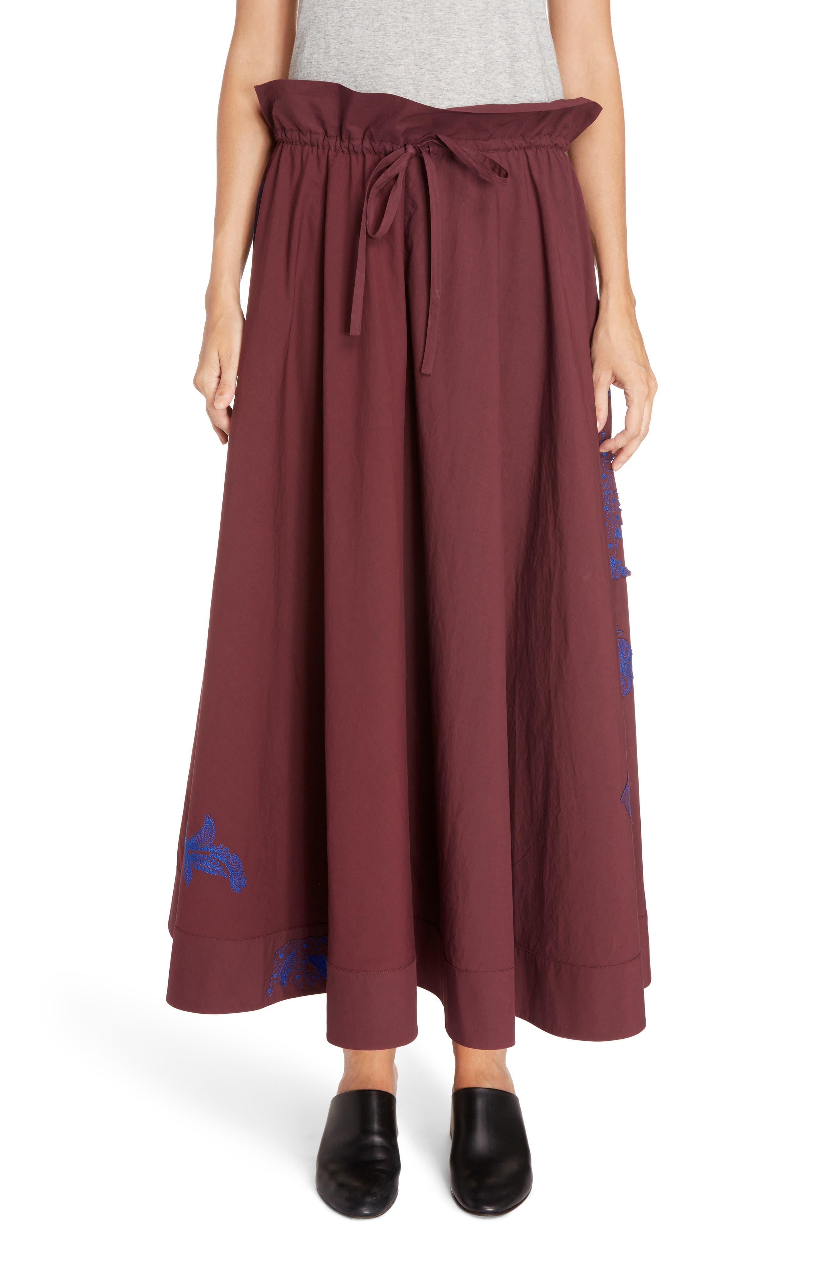 Hela Tie Waist Skirt,                             Main thumbnail 1, color,                             930