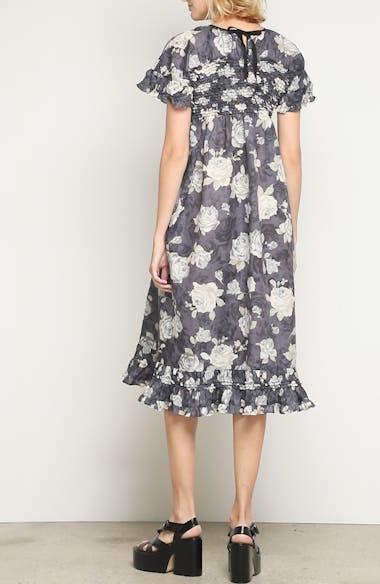 Rose Print Dress, video thumbnail