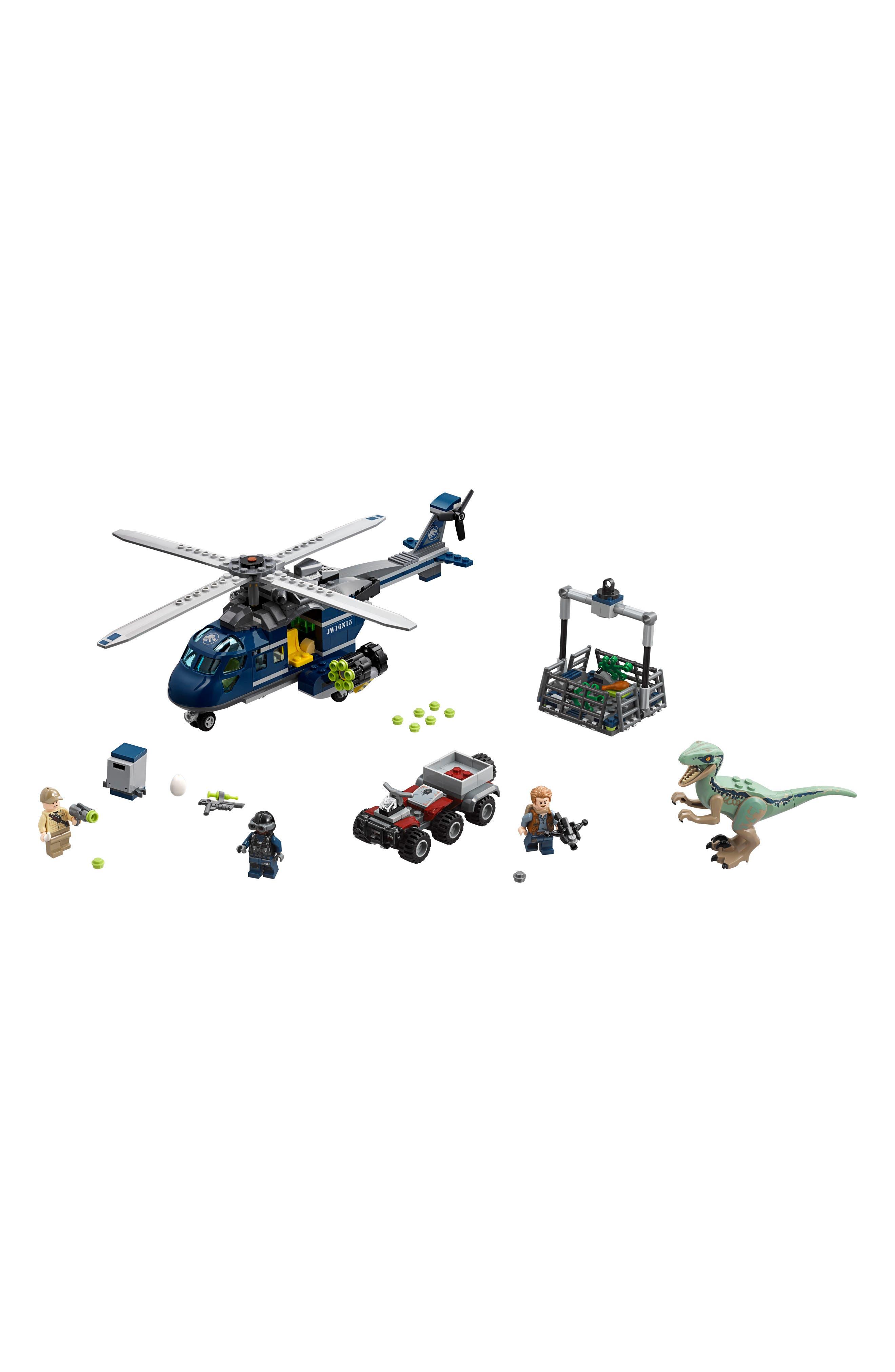 LEGO<SUP>®</SUP>,                             Blues Helicopter Pursuit - 75928,                             Alternate thumbnail 6, color,                             400