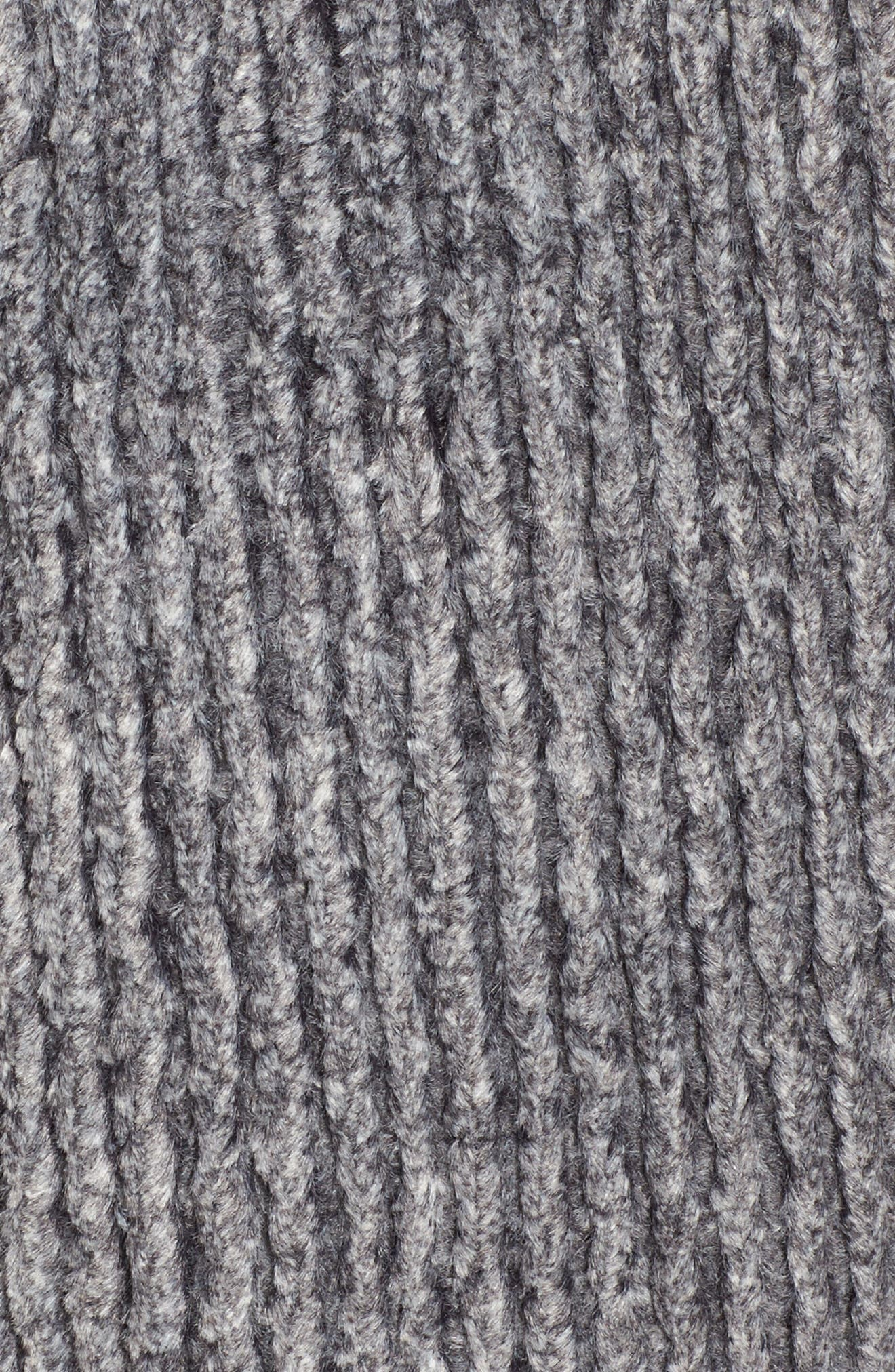 Frosty Cord Pile Quarter Zip Pullover,                             Alternate thumbnail 5, color,                             011