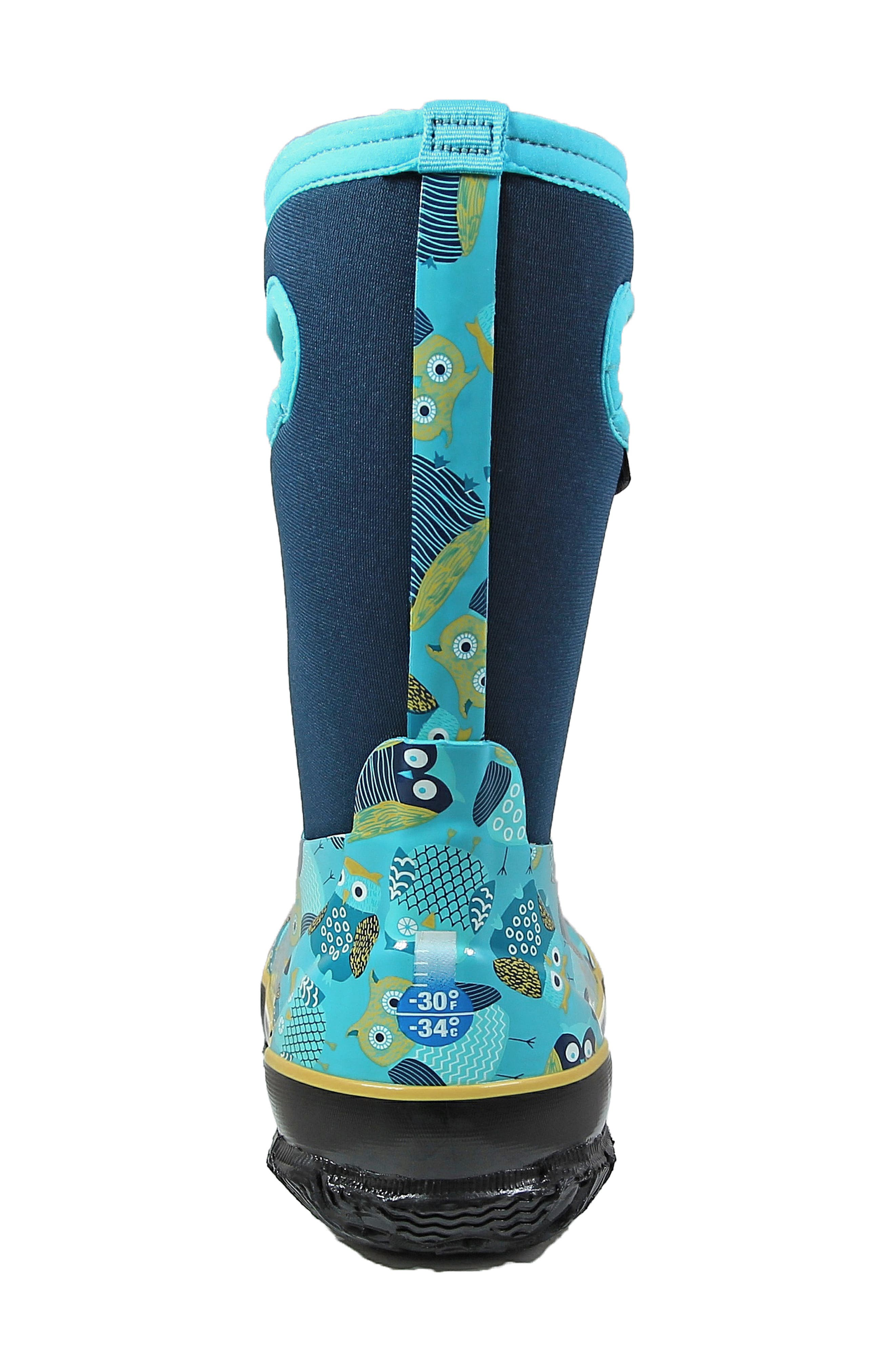 Classic Insulated Waterproof Owl Boot,                             Alternate thumbnail 6, color,                             460