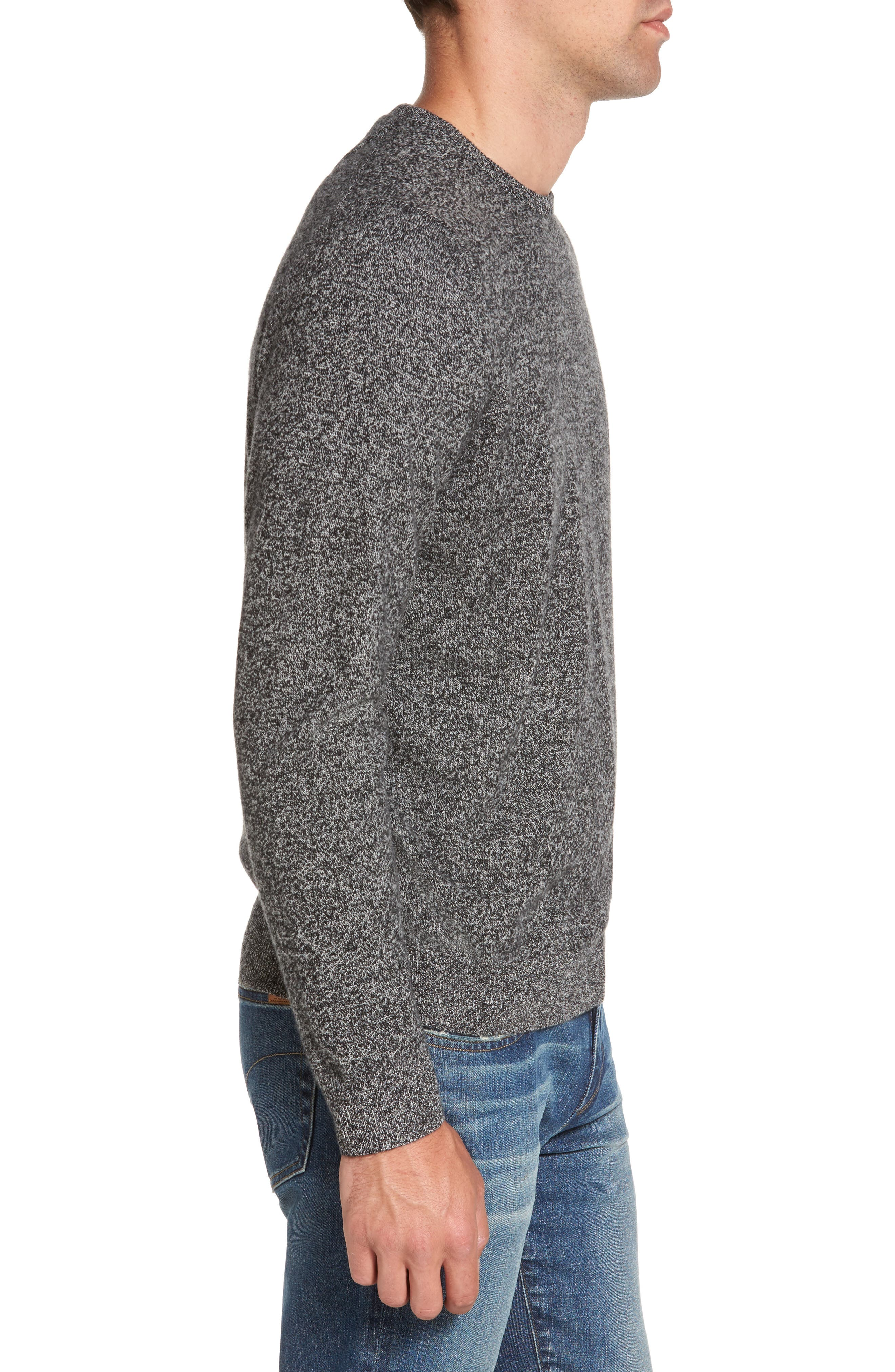 Cashmere Sweater,                             Alternate thumbnail 3, color,                             001