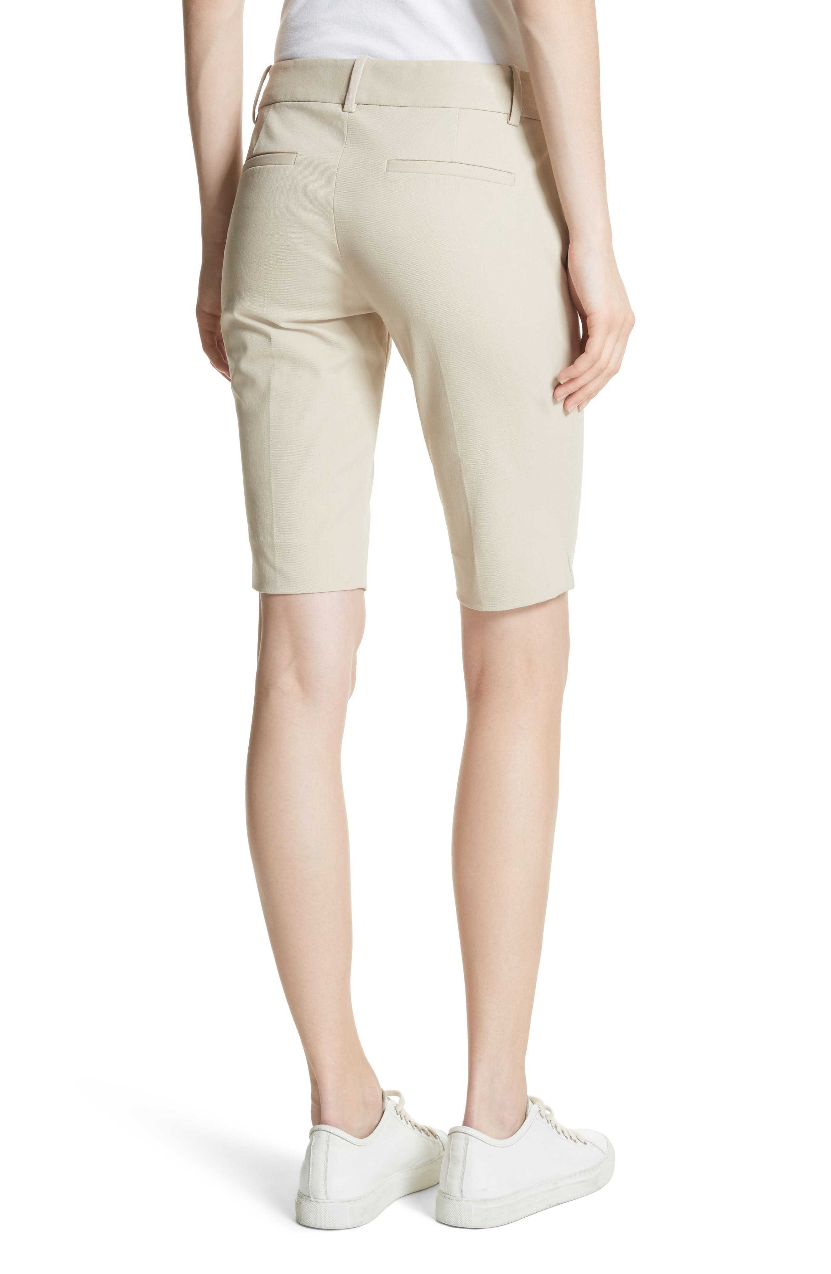 Approach Stretch Twill Slim Bermuda Shorts,                             Alternate thumbnail 2, color,                             257