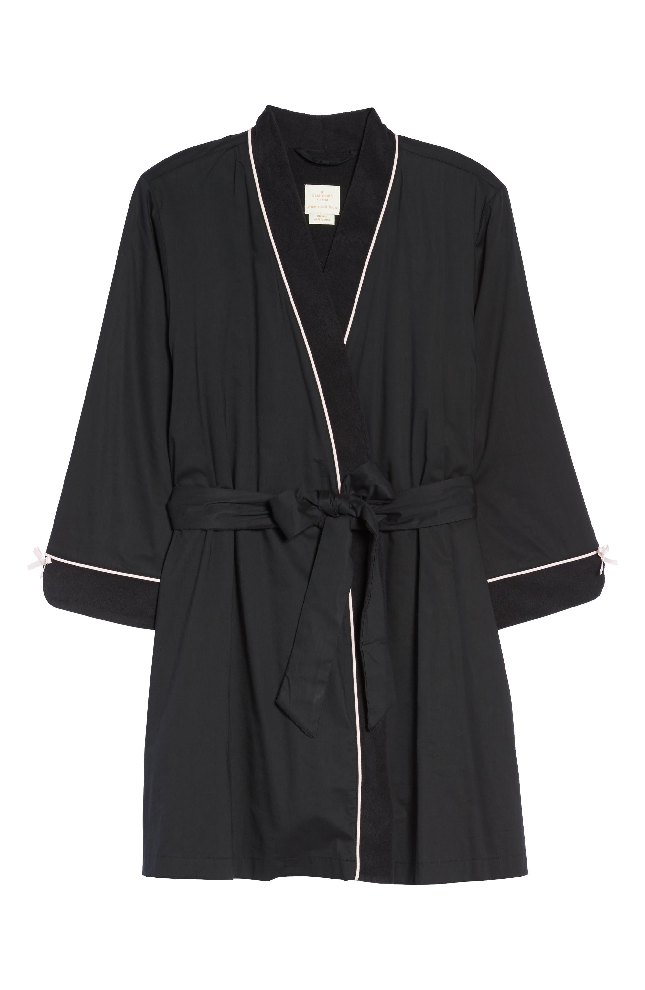 short robe,                             Alternate thumbnail 6, color,                             001