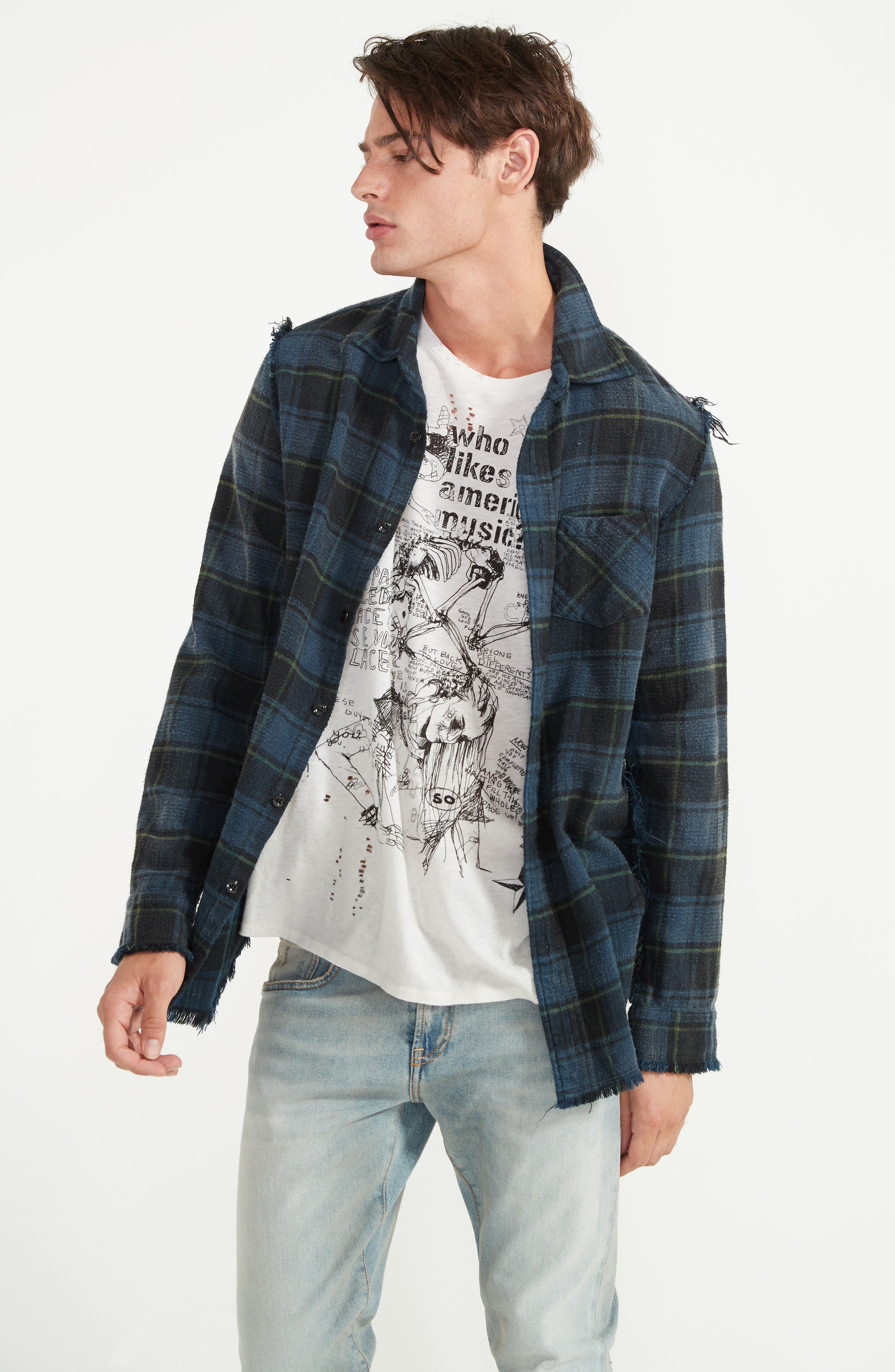 Boy Clean Jeans,                             Alternate thumbnail 6, color,                             LEYTON