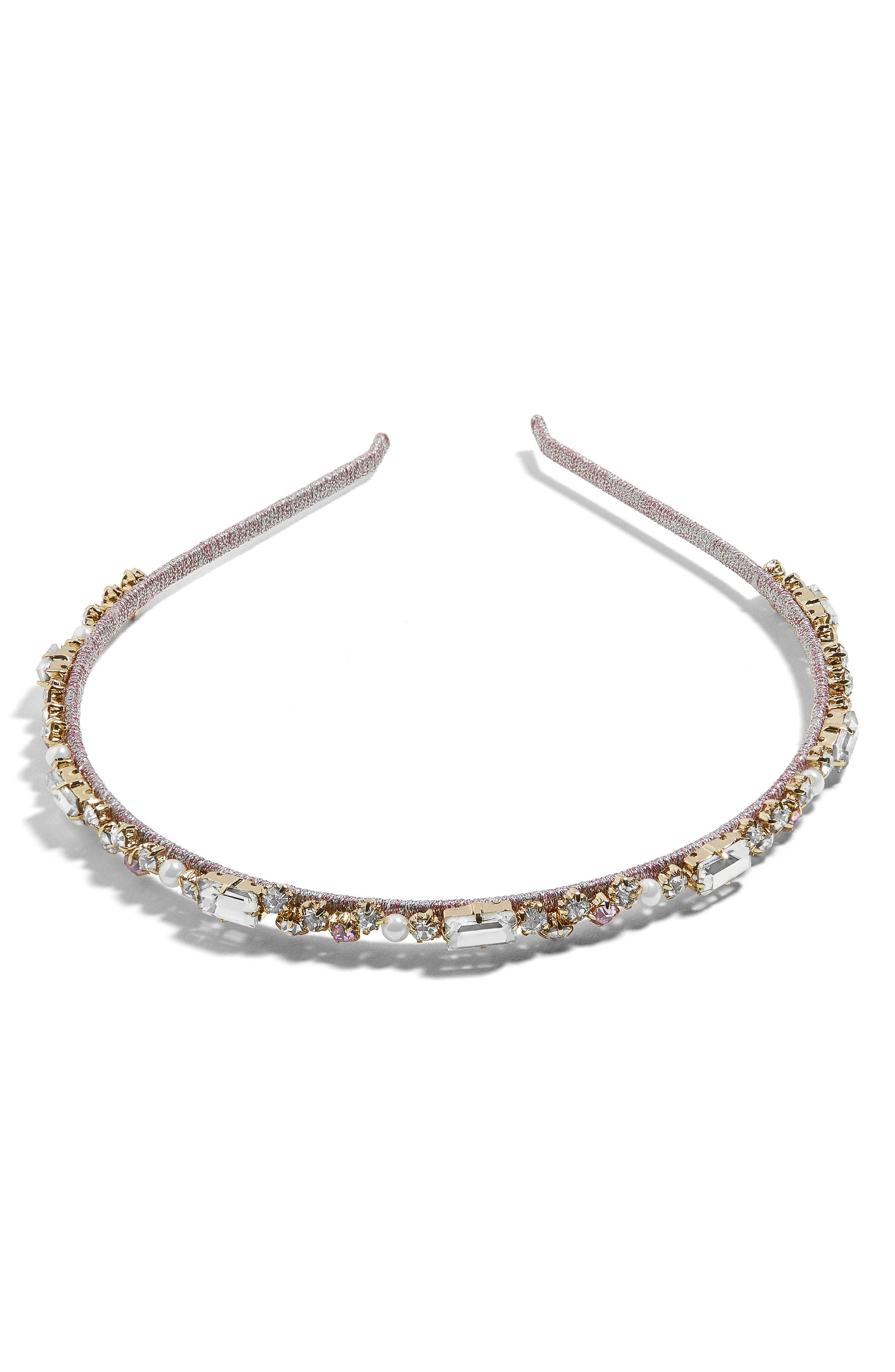 Emmaretta Embellished Headband,                             Main thumbnail 1, color,                             500