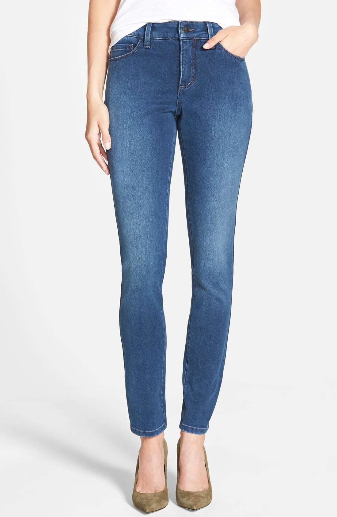 Alina Colored Stretch Skinny Jeans,                             Main thumbnail 29, color,