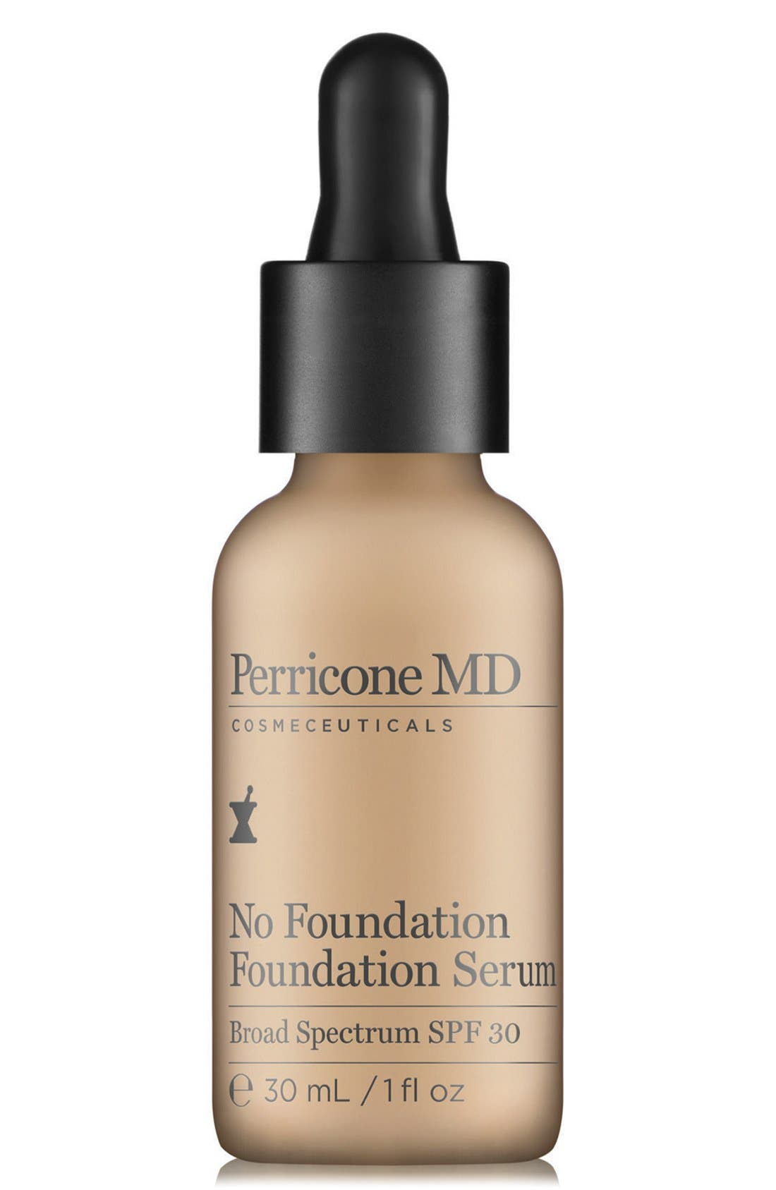 'No Foundation' Foundation Serum Broad Spectrum SPF 30,                             Main thumbnail 1, color,                             NO COLOR
