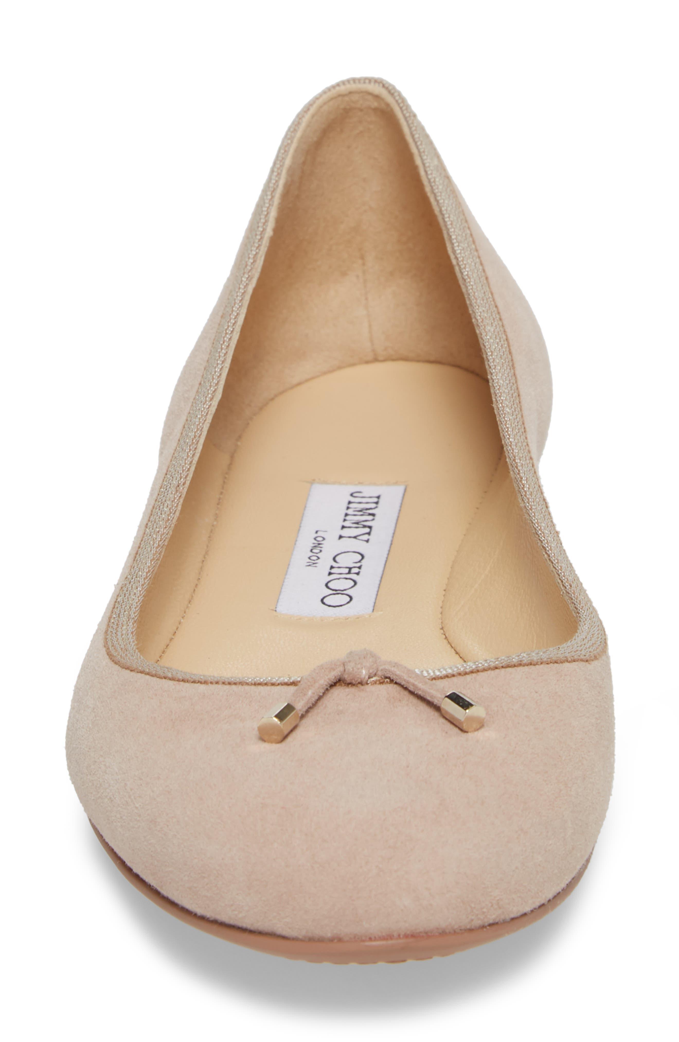 Jennie Ballet Flat,                             Alternate thumbnail 4, color,                             680