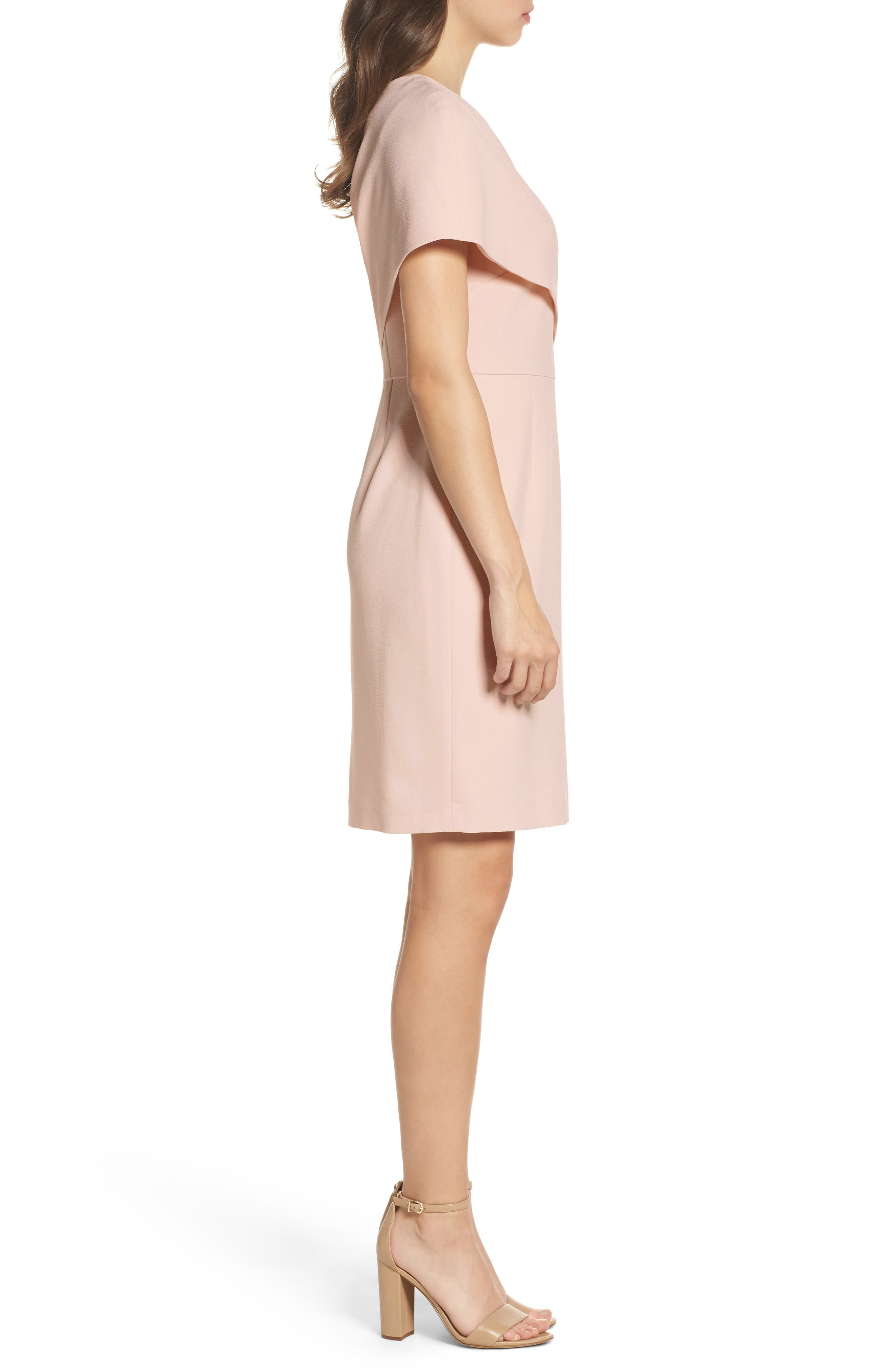 One-Shoulder Body-Con Dress,                             Alternate thumbnail 3, color,                             684
