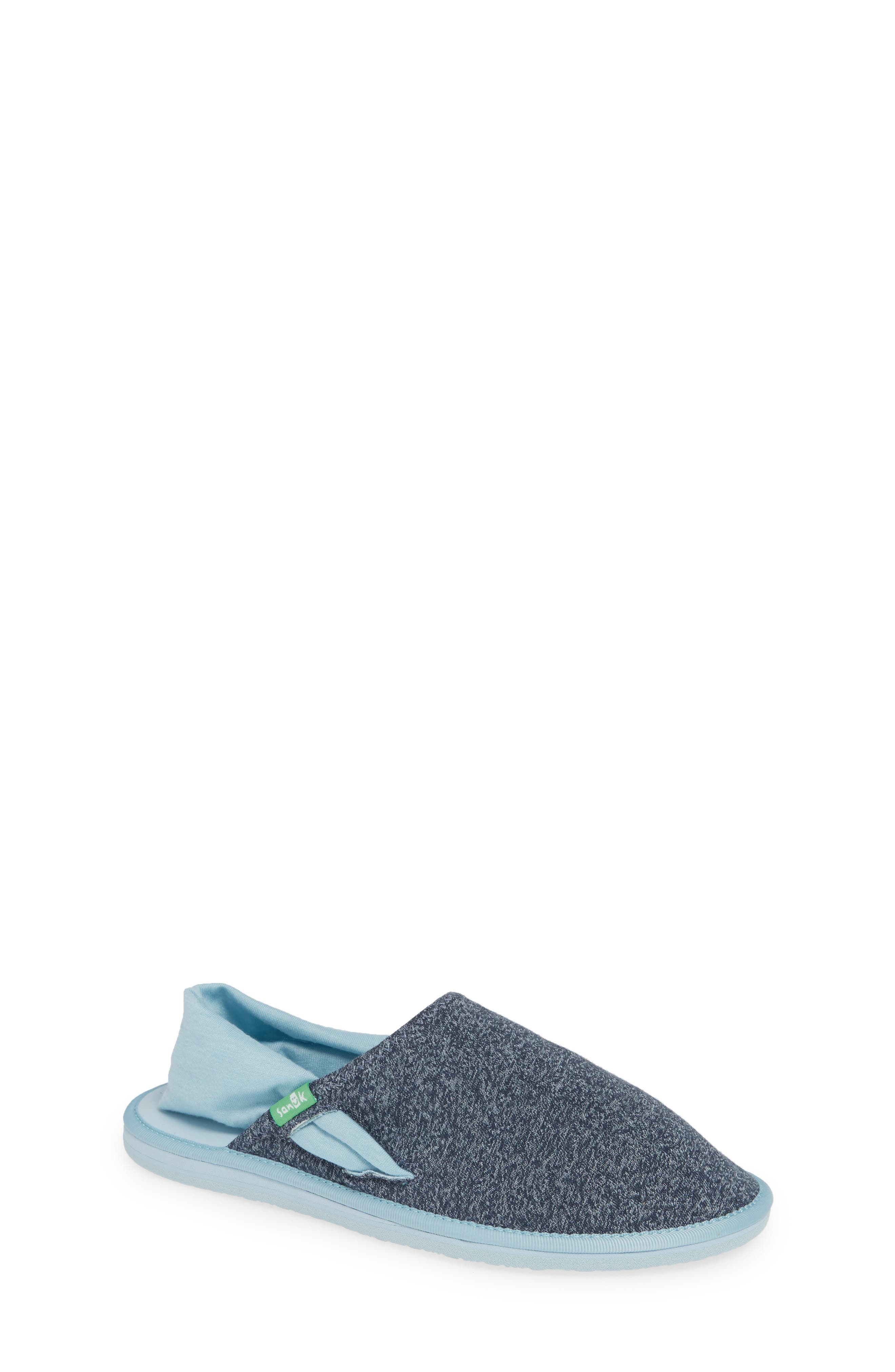 Lil Yoga Sling Cruz Slip-On,                             Main thumbnail 1, color,                             HEATHER OUTERSPACE