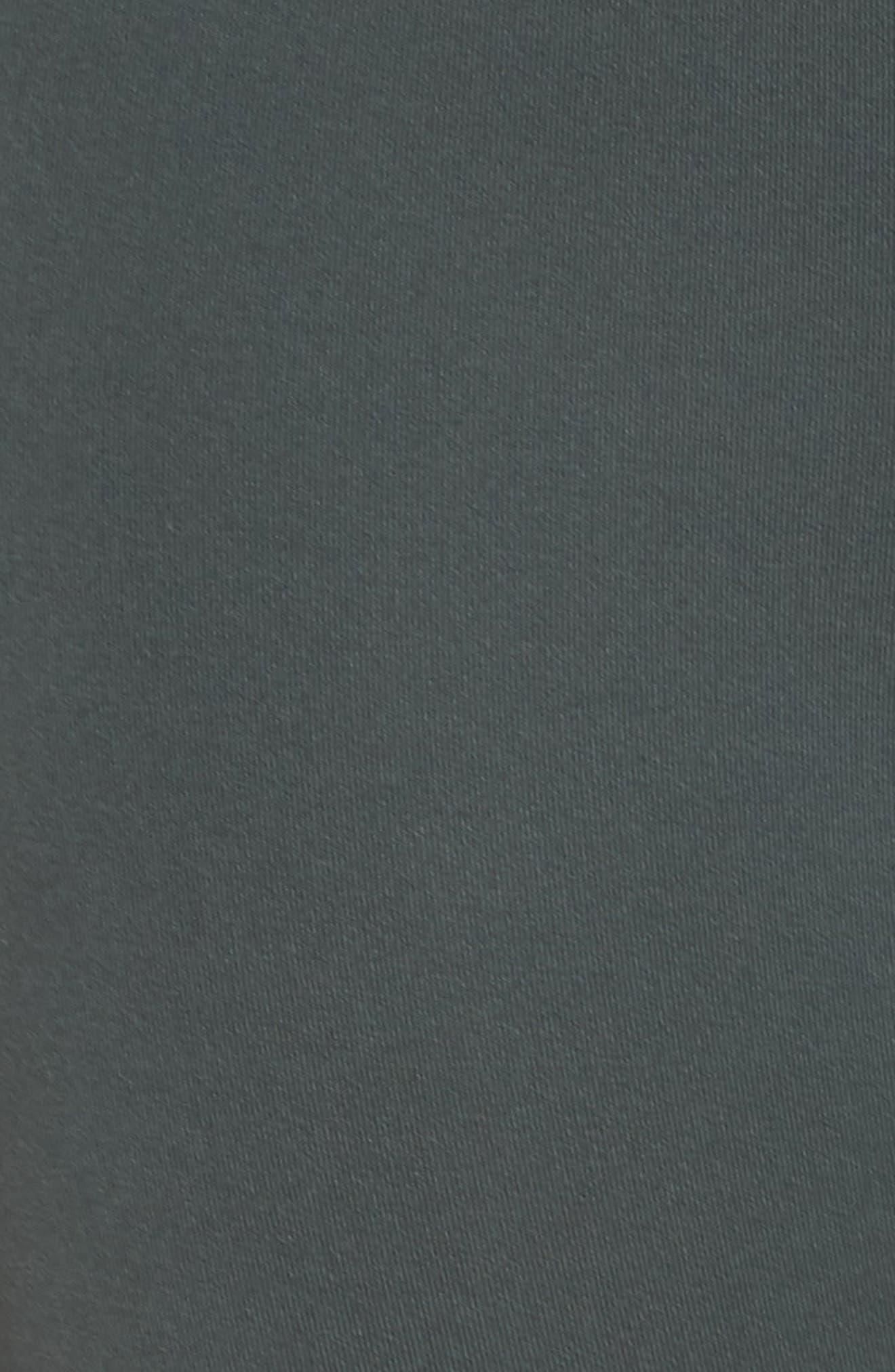 Gemini Cool Recycled Crop Leggings,                             Alternate thumbnail 6, color,                             GREY URBAN