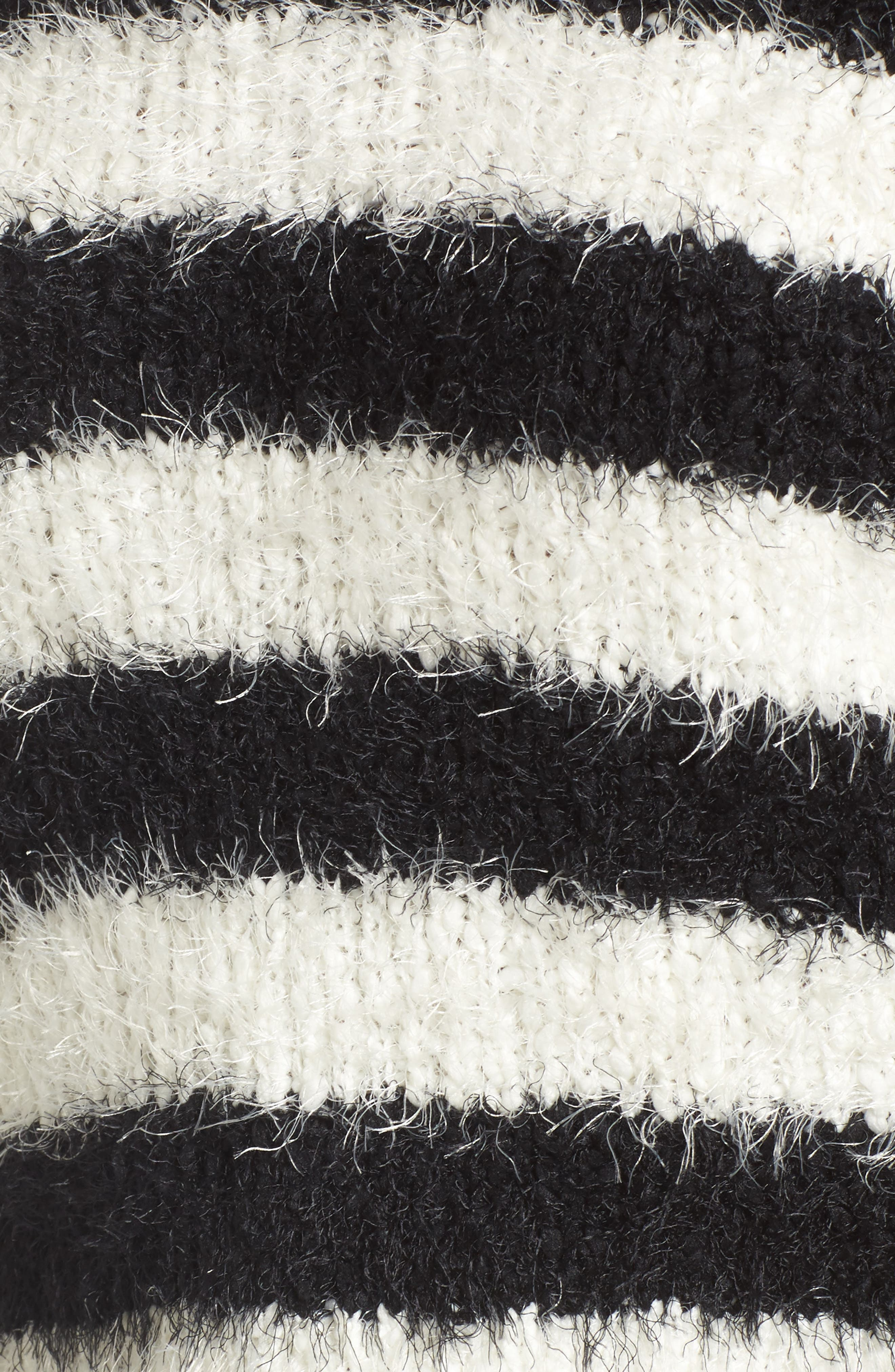 Stripe Slouchy Pullover,                             Alternate thumbnail 5, color,                             907