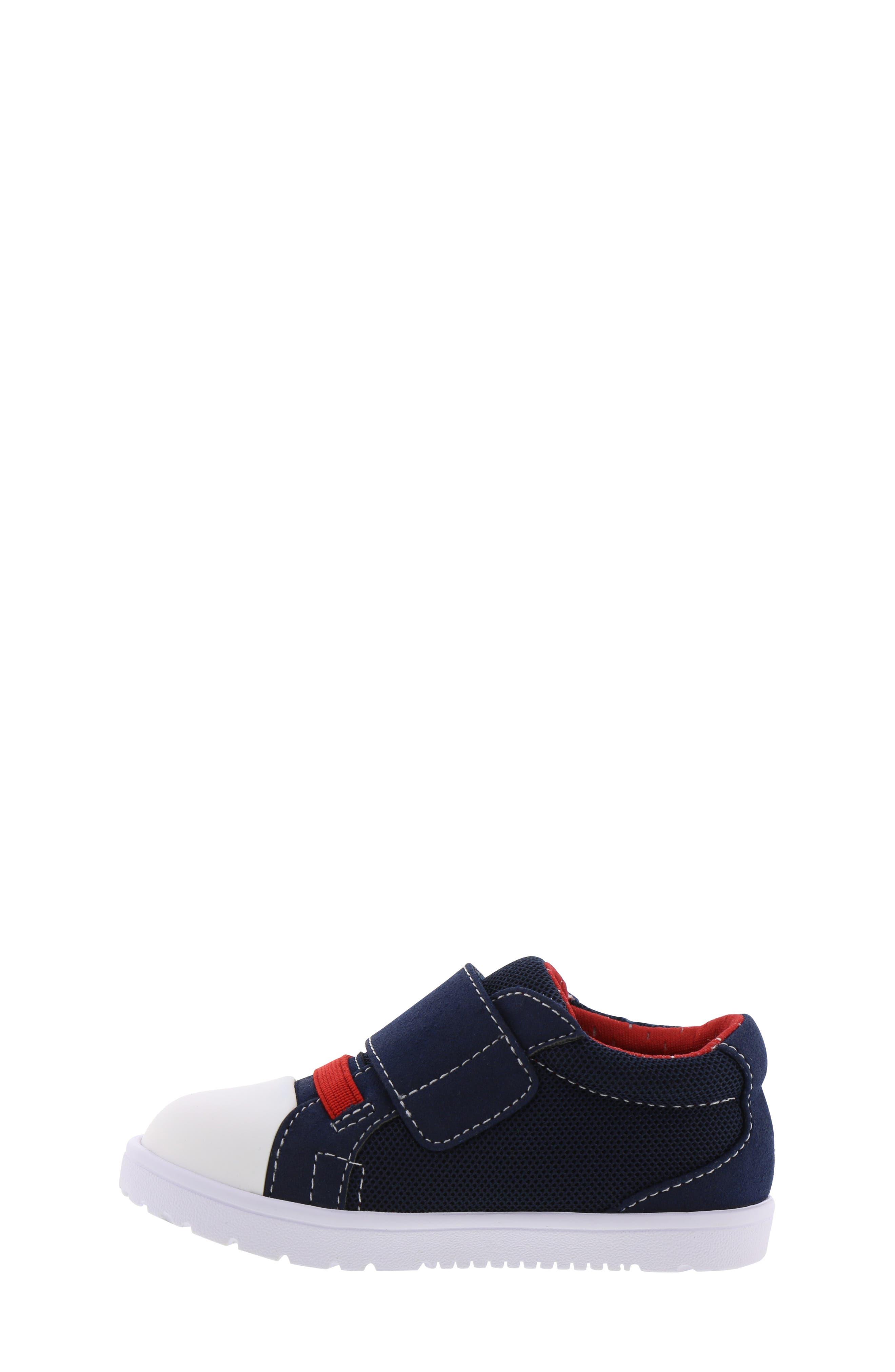 BØRN,                             Bailey Clark Sneaker,                             Alternate thumbnail 8, color,                             NAVY