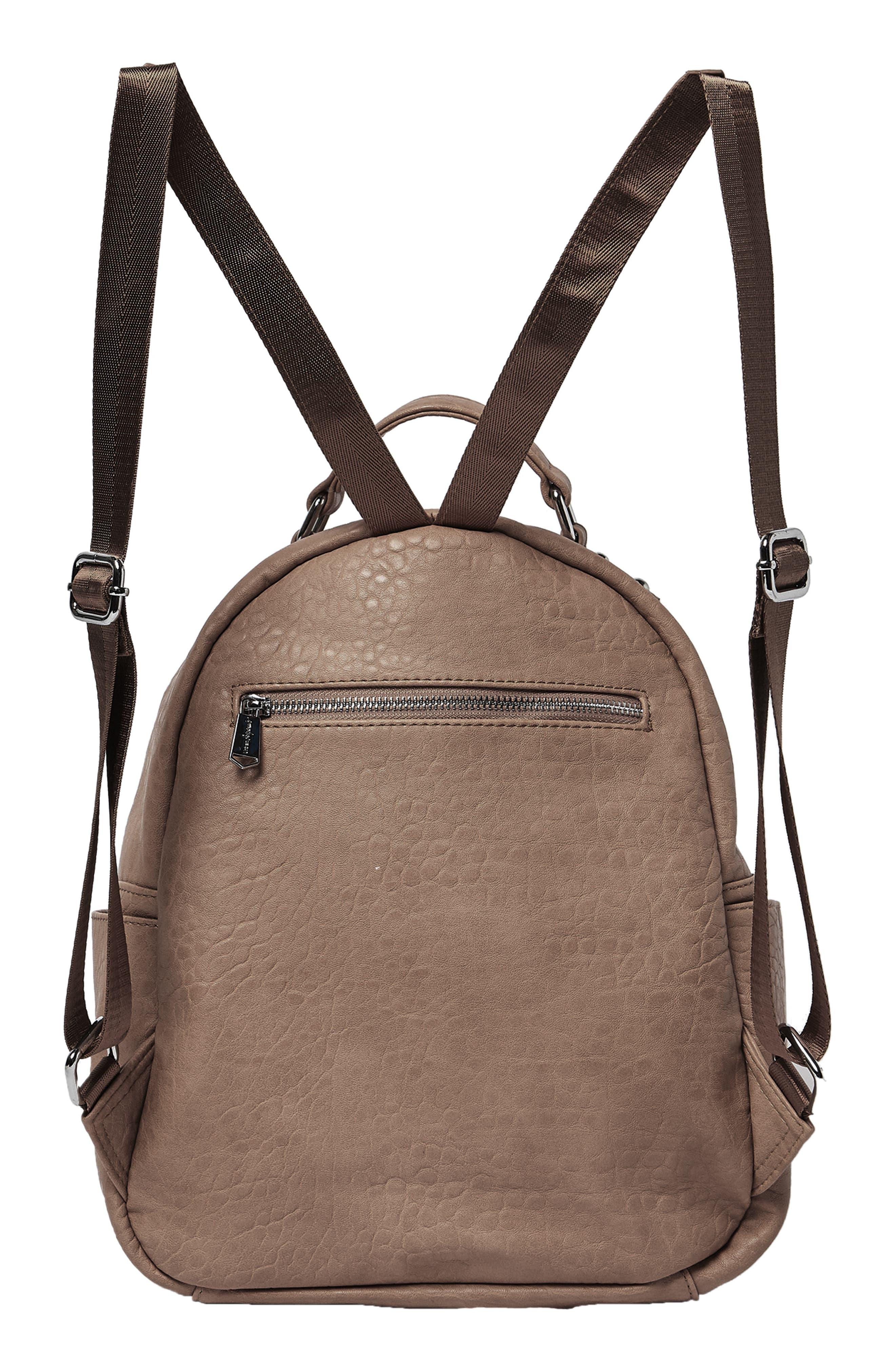 South Bag Vegan Leather Backpack,                             Alternate thumbnail 2, color,                             MOCHA