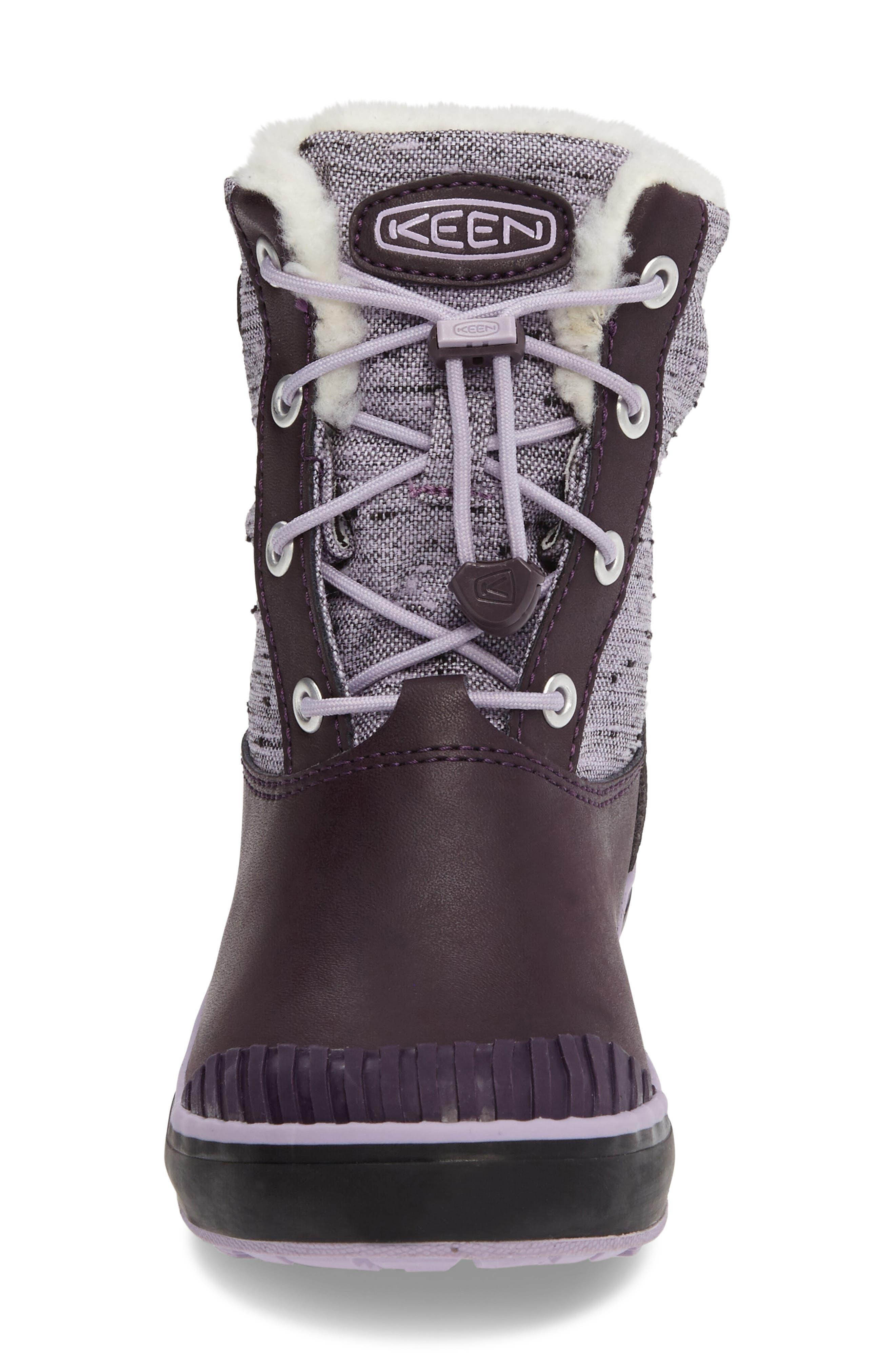 Elsa Waterproof Faux Fur Lined Snow Boot,                             Alternate thumbnail 14, color,