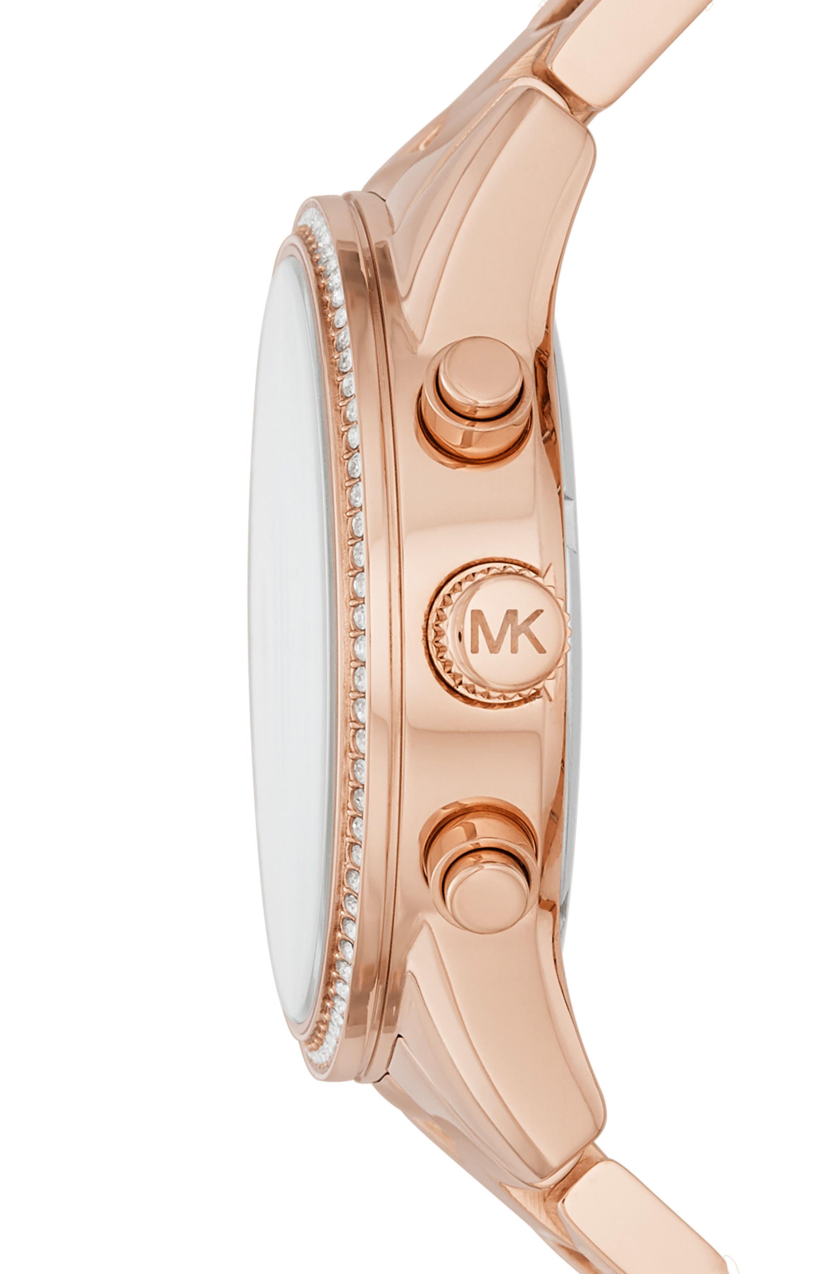 Ritz Chronograph Bracelet Watch, 37mm,                             Alternate thumbnail 12, color,