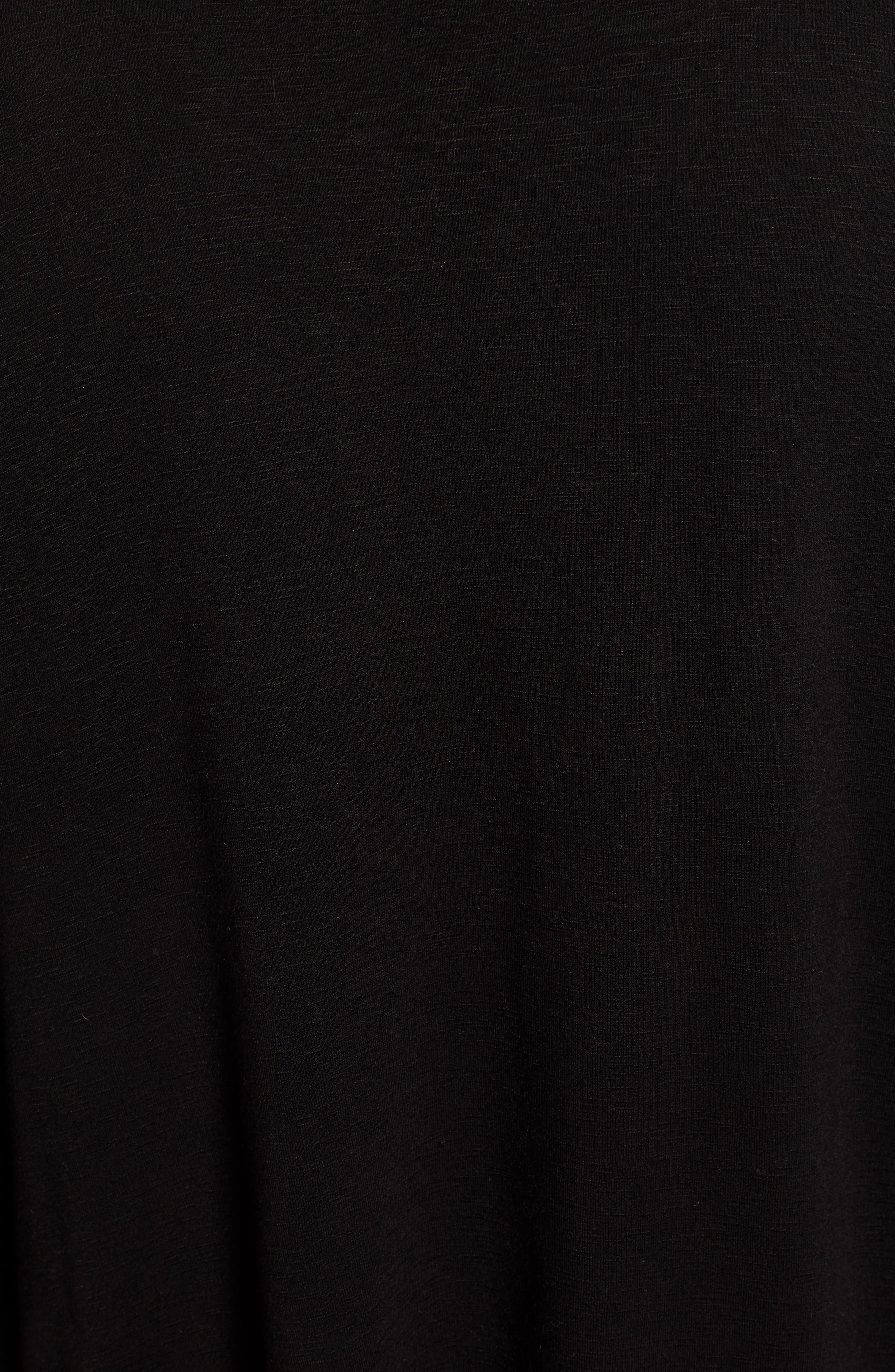 Cowl Neck Sweatshirt,                             Alternate thumbnail 5, color,                             001