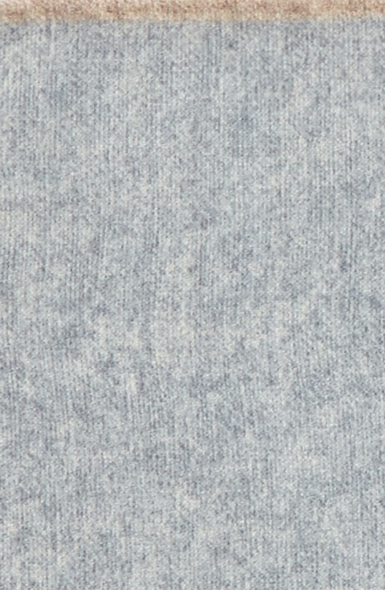 Flannel Wool Pocket Square,                             Alternate thumbnail 7, color,