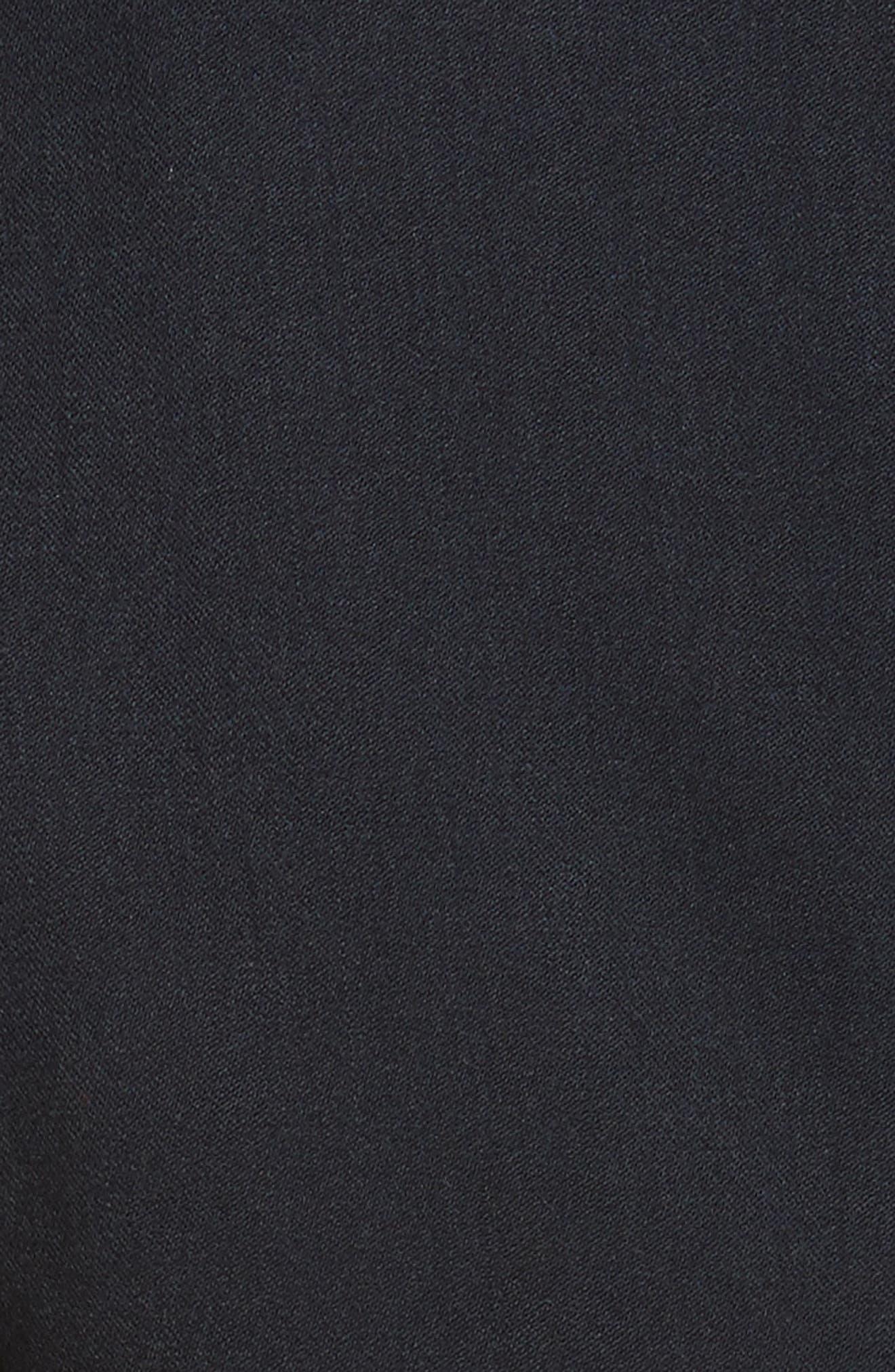 Gabardine Italian Wool Blend Midi Dress,                             Alternate thumbnail 5, color,                             410