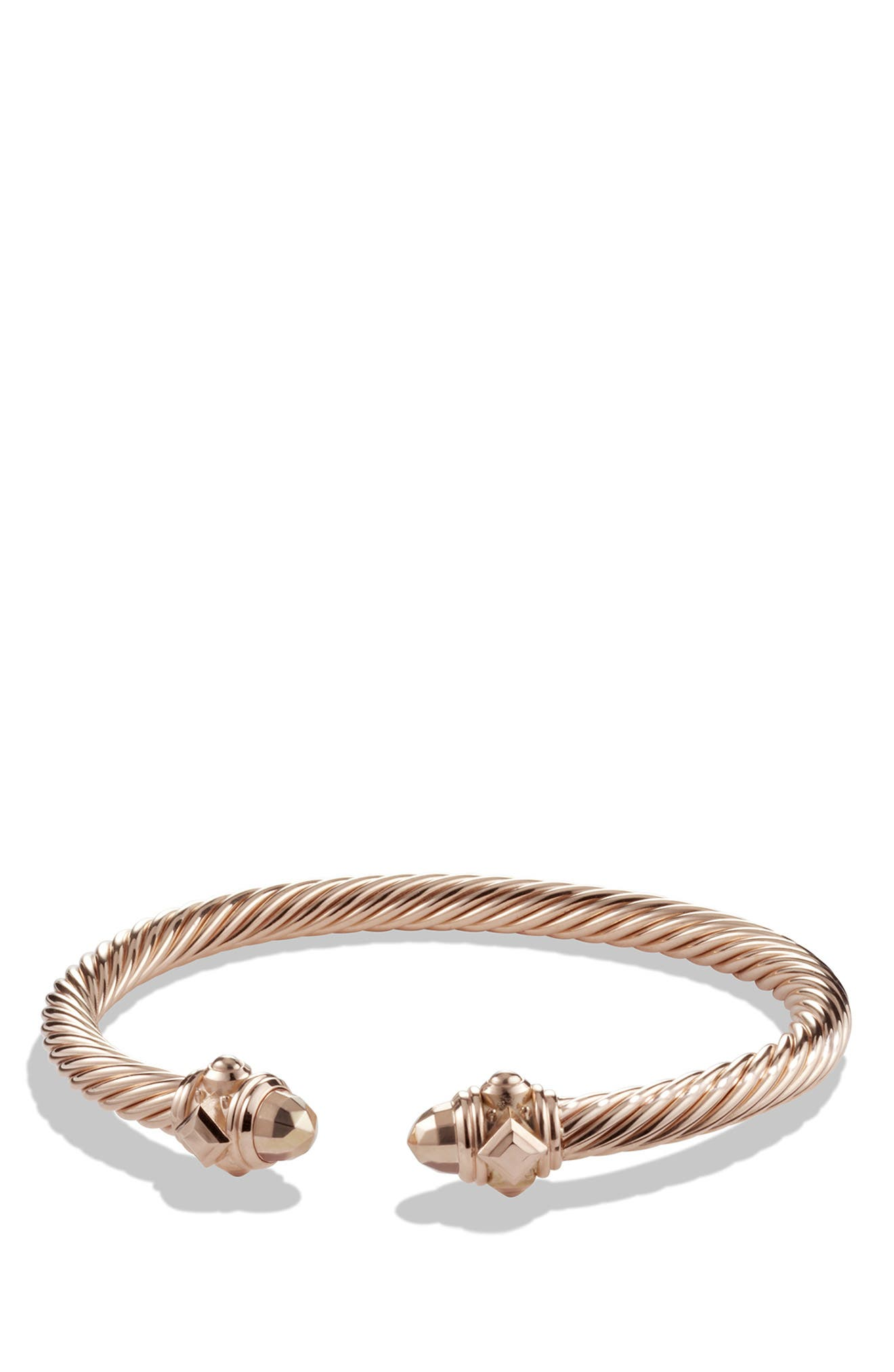 Renaissance Bracelet in 18K Rose Gold, 5mm,                         Main,                         color, ROSE GOLD