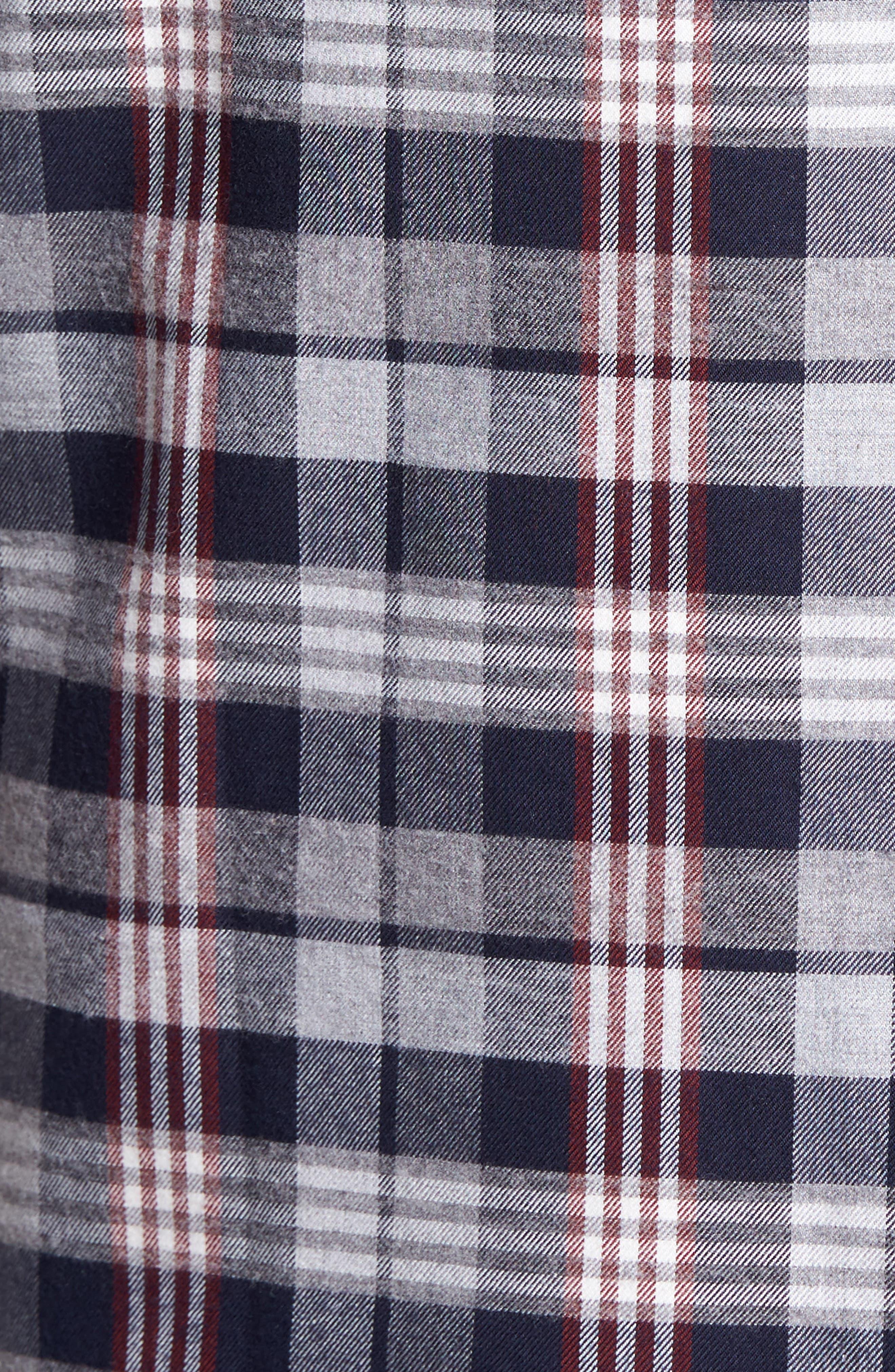 Check Twill Shirt,                             Alternate thumbnail 5, color,                             409