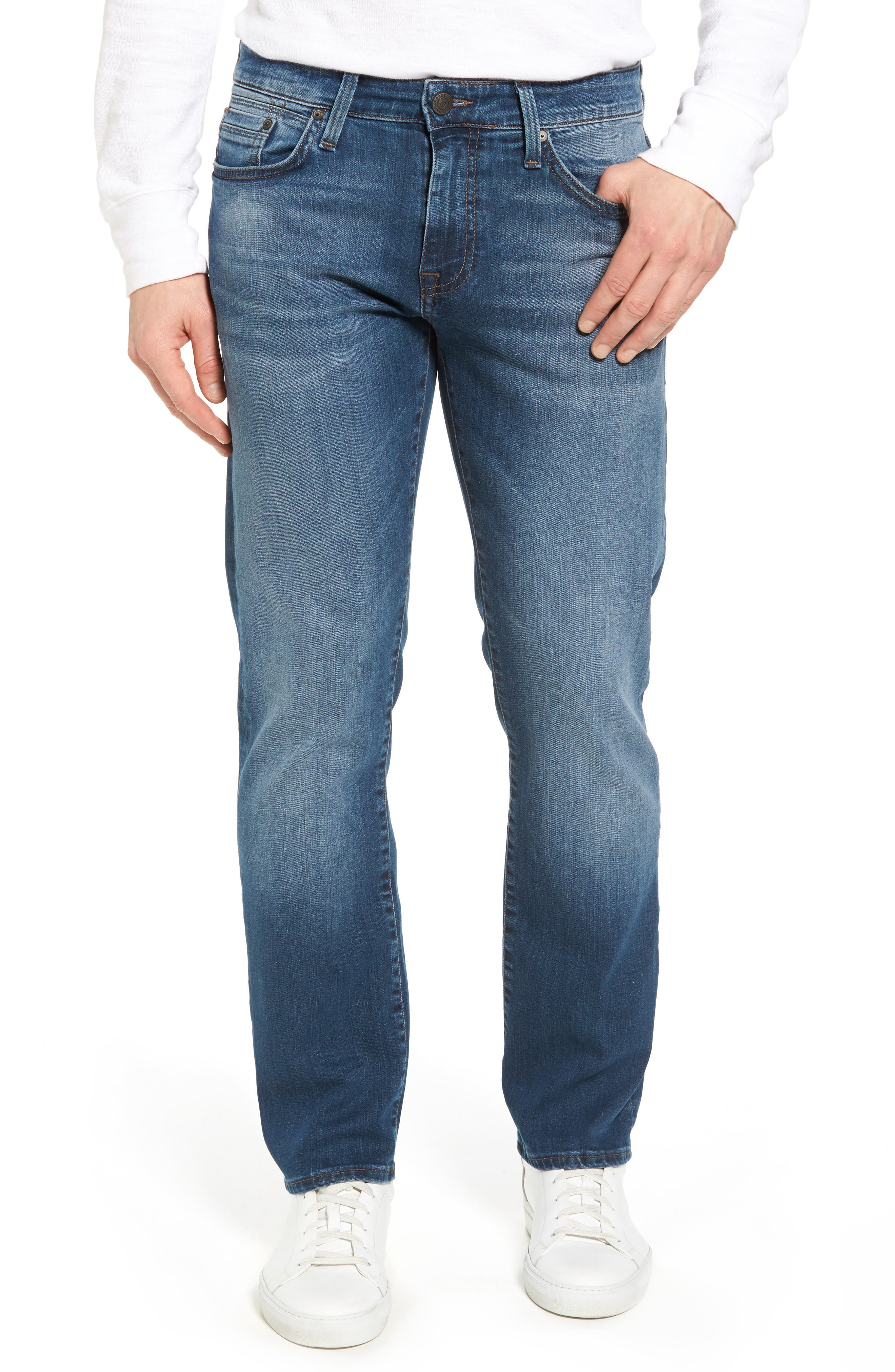 Zach Straight Fit Jeans,                             Main thumbnail 1, color,
