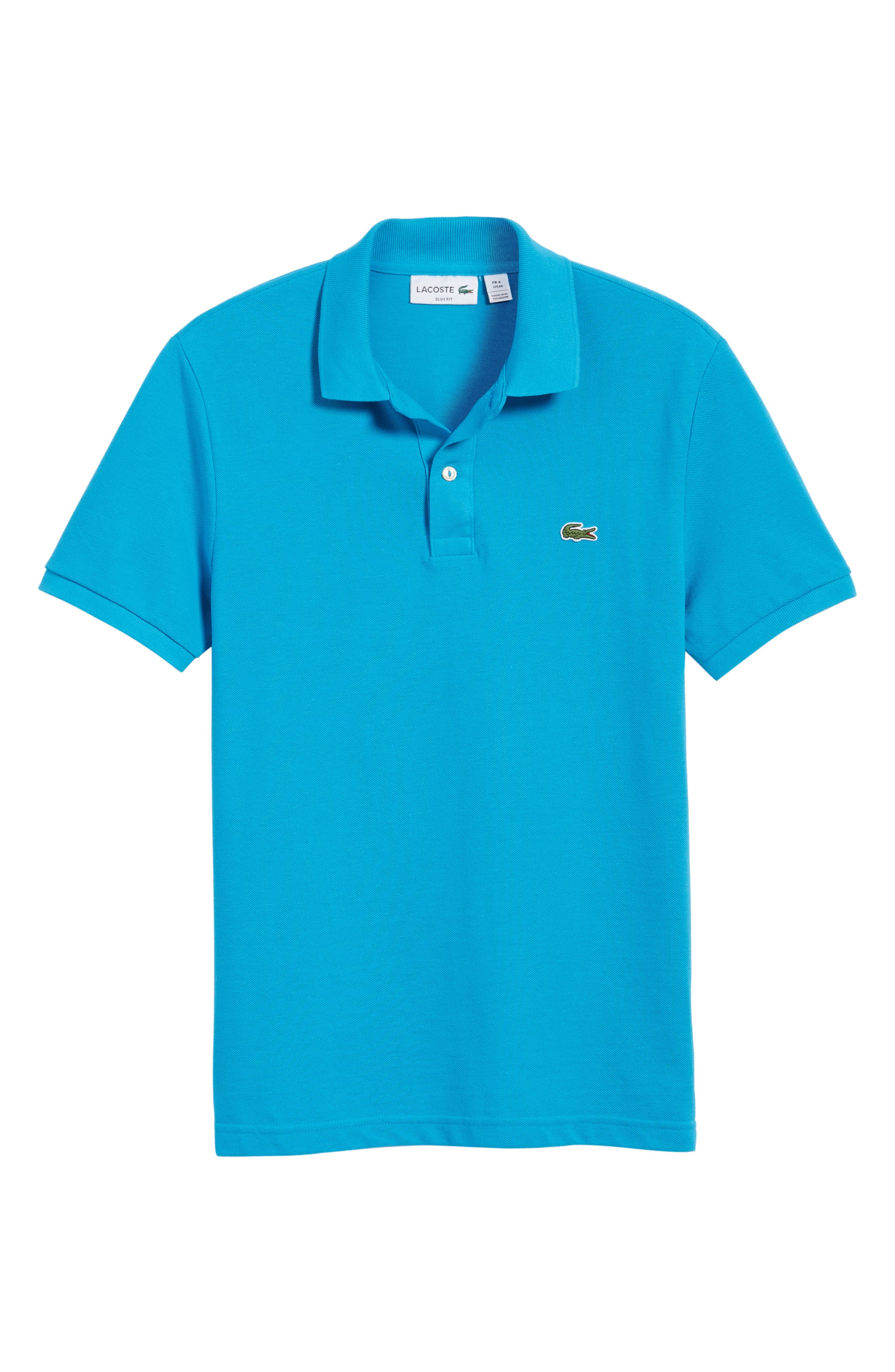 Slim Fit Piqué Polo,                             Alternate thumbnail 62, color,