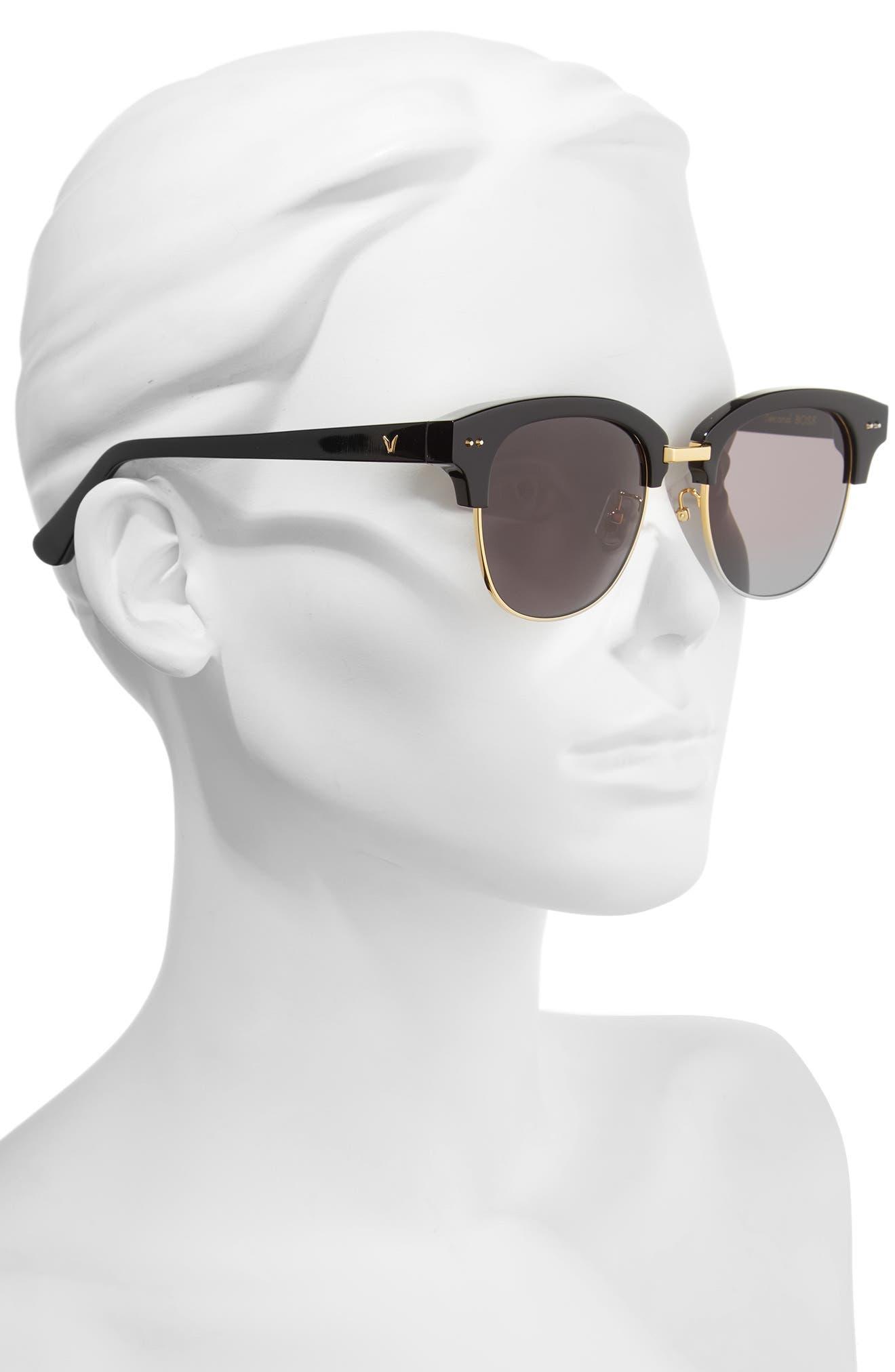 GENTLE MONSTER,                             Second Boss 51mm Retro Sunglasses,                             Alternate thumbnail 2, color,                             001