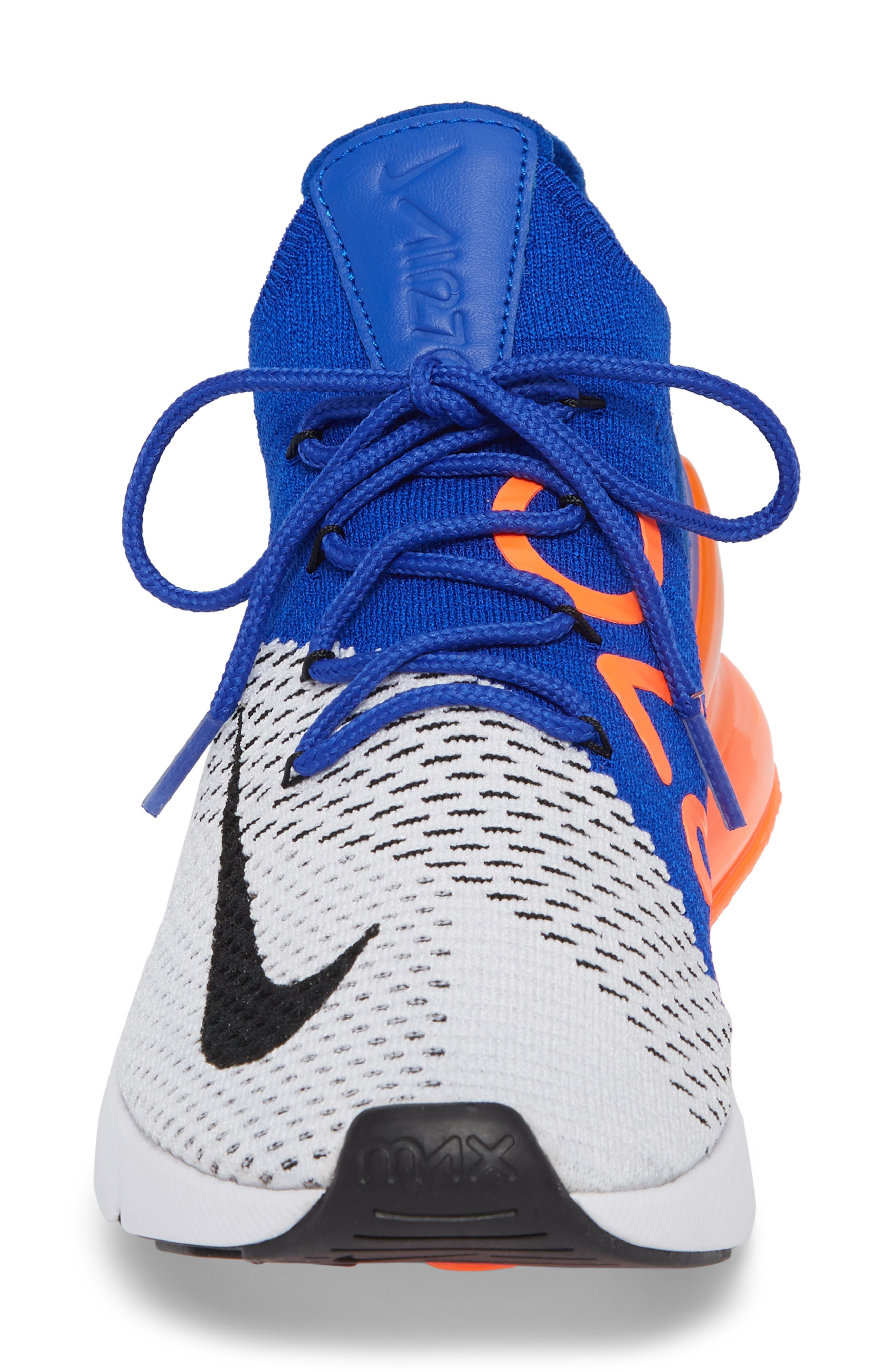 Air Max 270 Flyknit Sneaker,                             Alternate thumbnail 24, color,