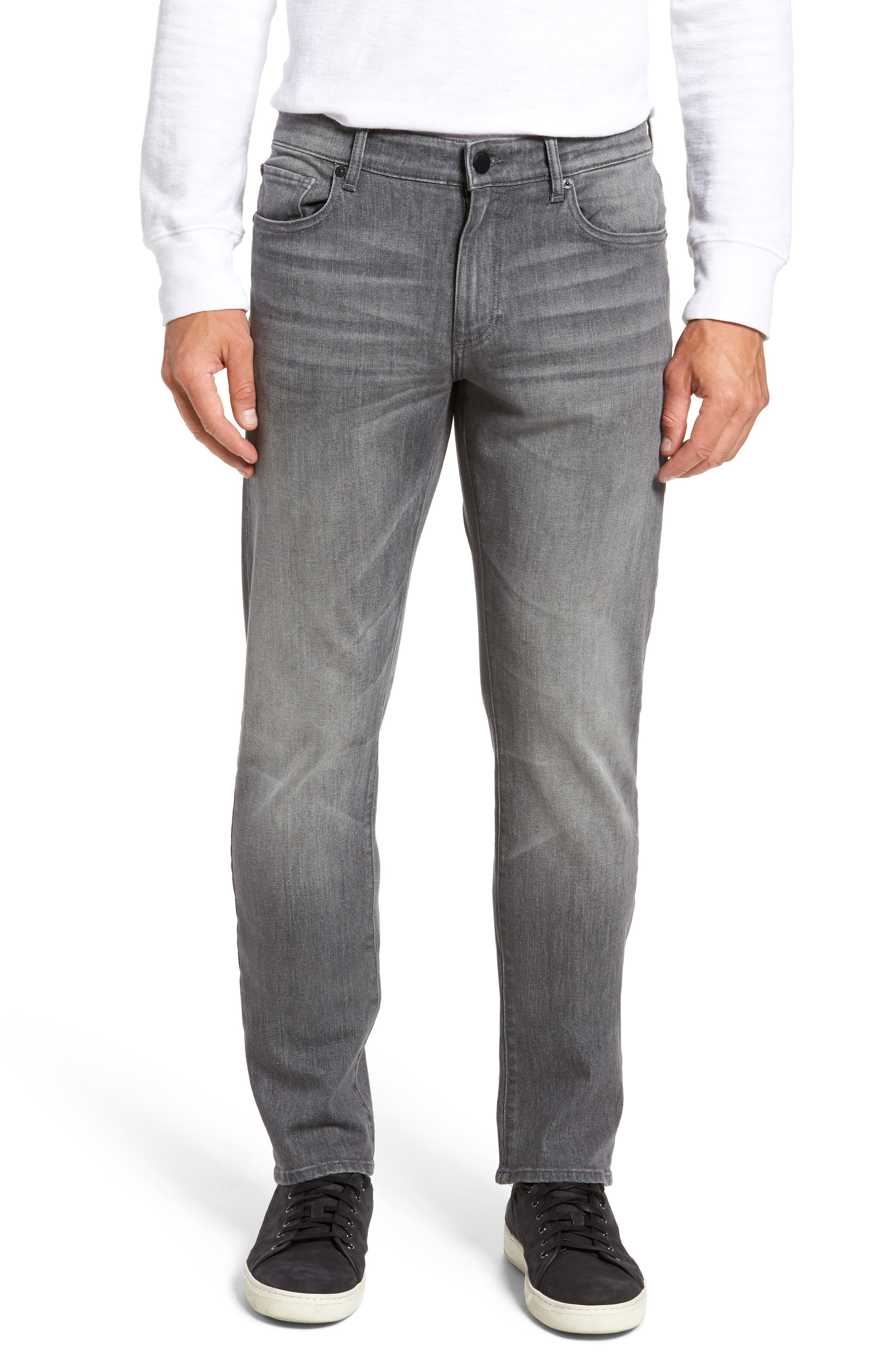 Russell Slim Straight Fit Jeans,                         Main,                         color, 020