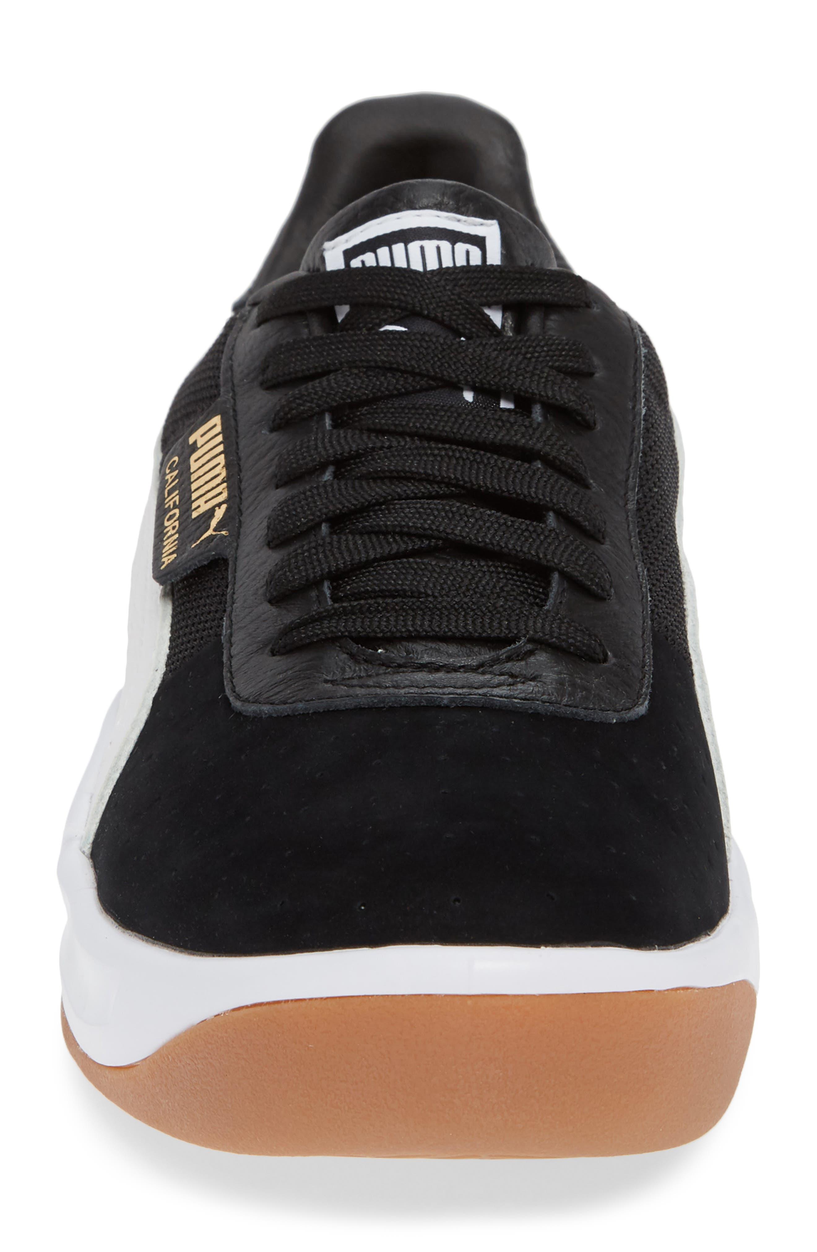 PUMA,                             California Casual Sneaker,                             Alternate thumbnail 4, color,                             001