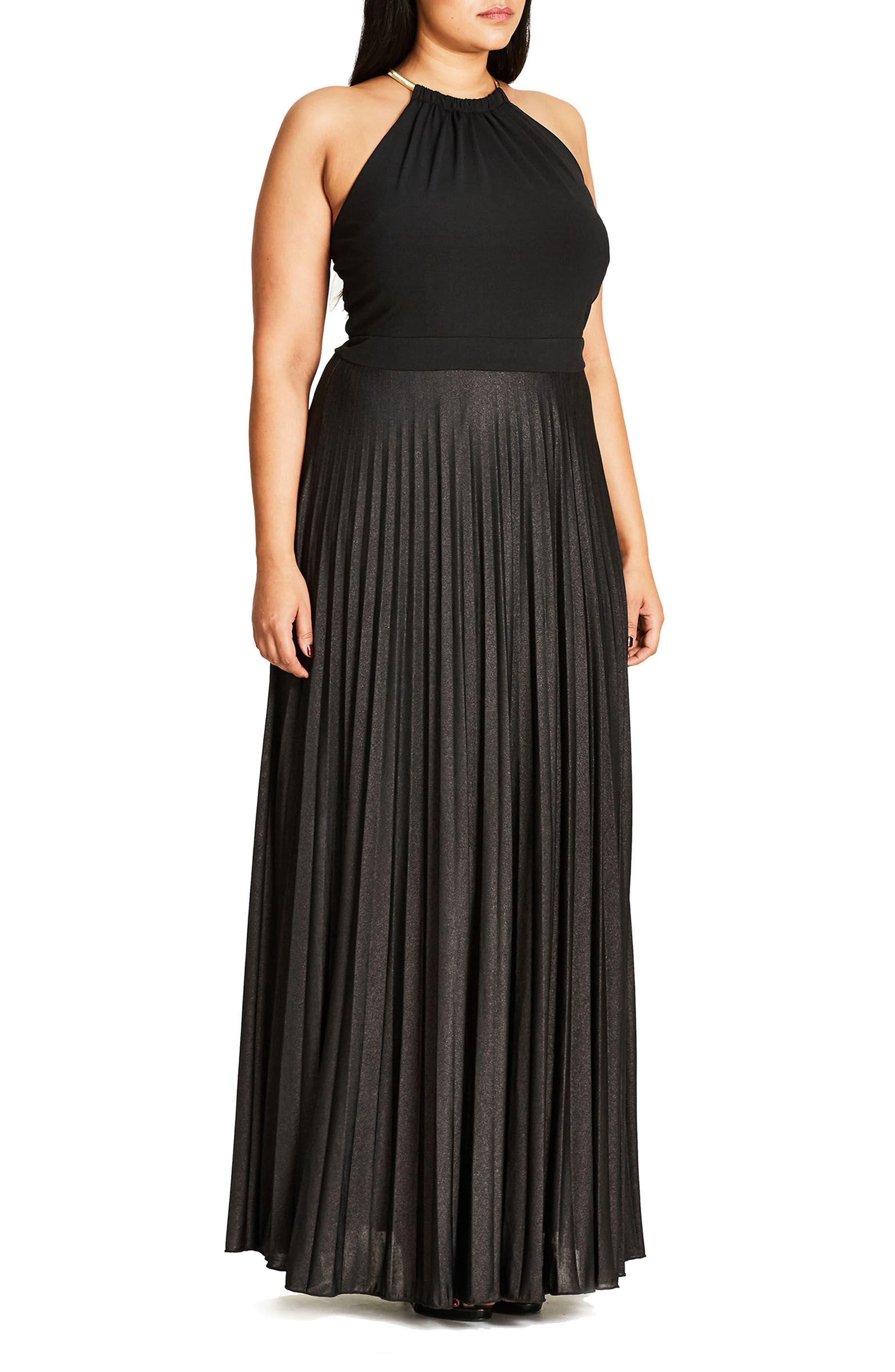 Colorblock Maxi Dress,                             Alternate thumbnail 5, color,