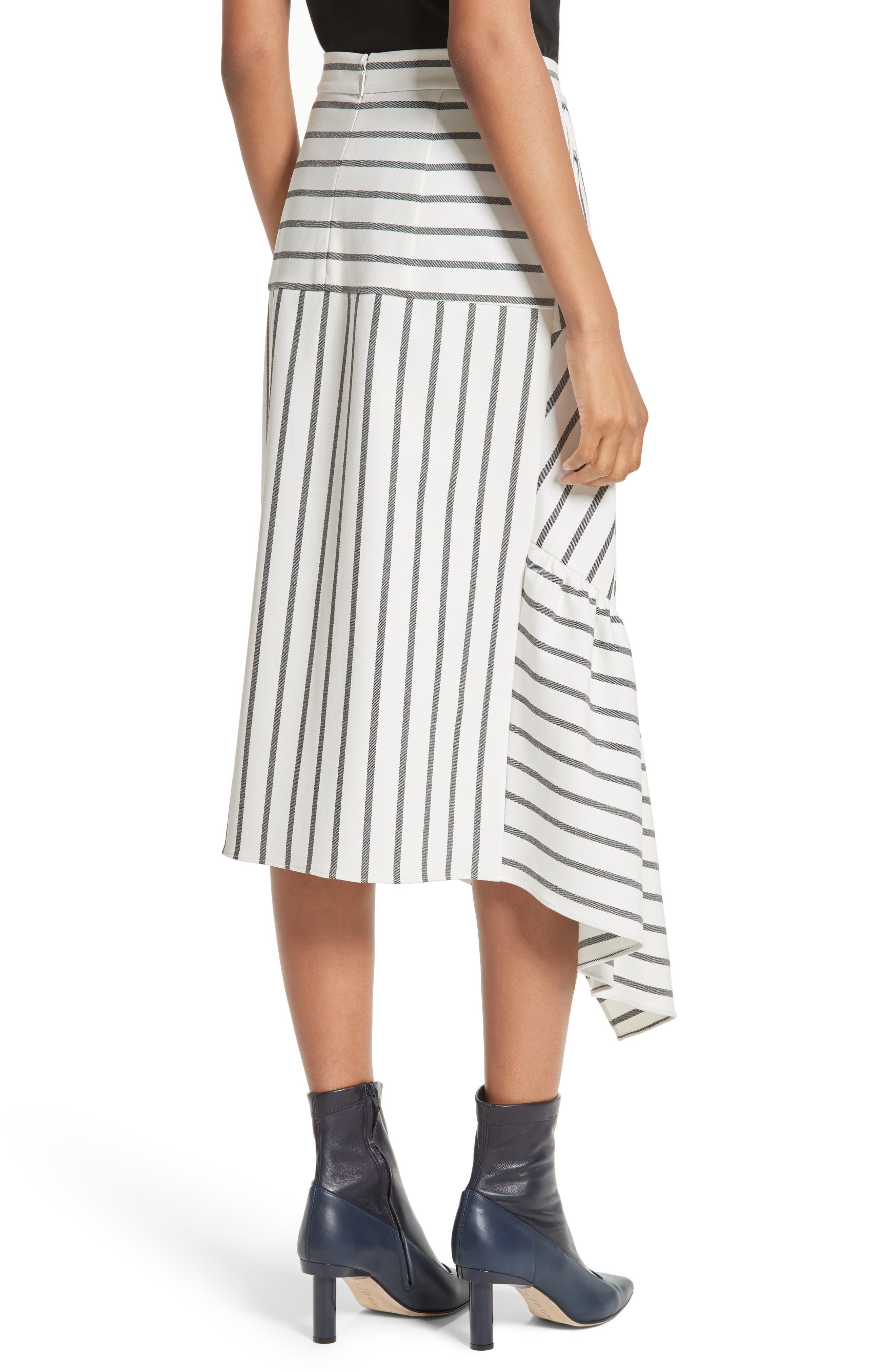 Lucci Stripe Midi Skirt,                             Alternate thumbnail 2, color,