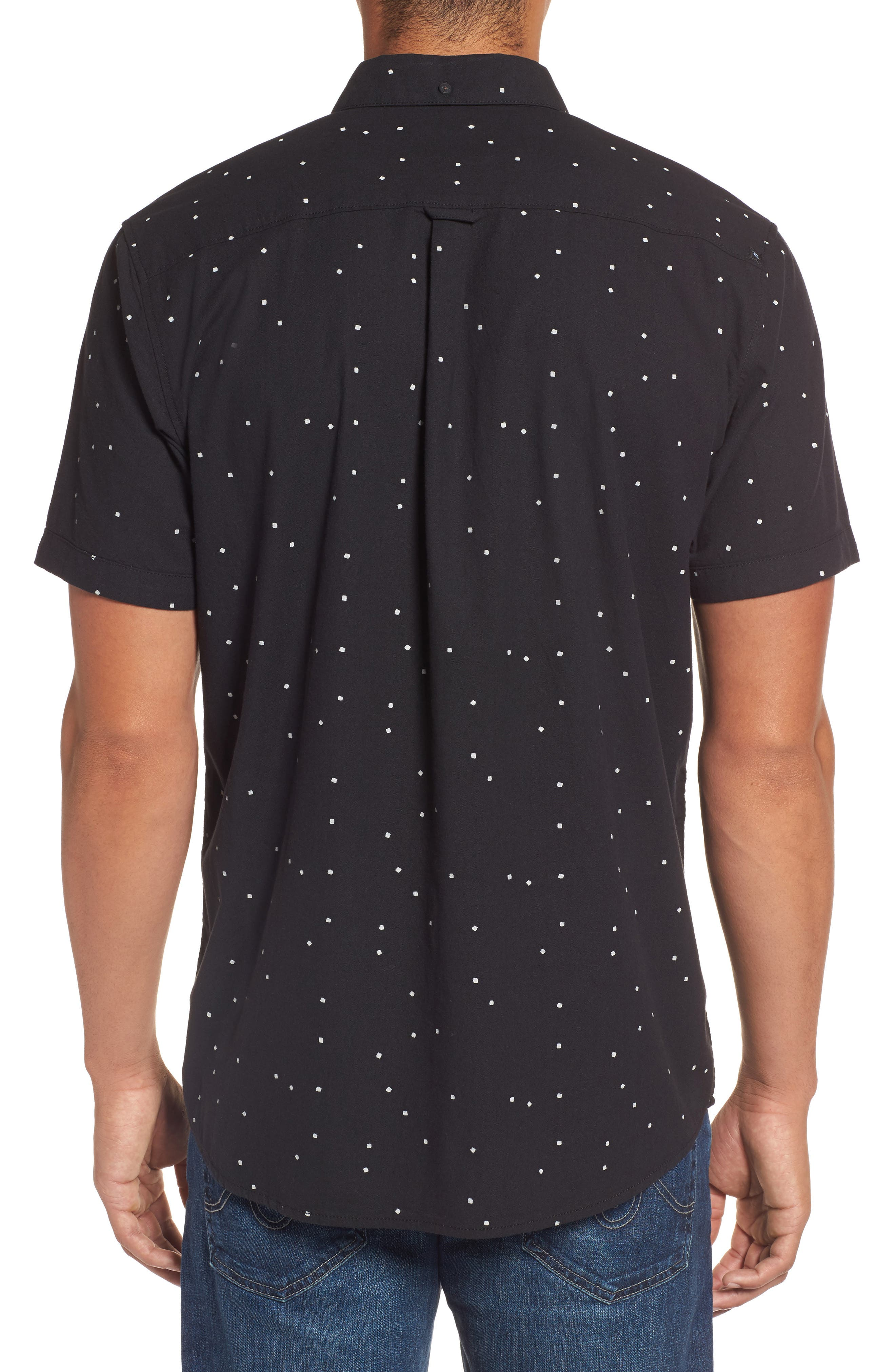 Mixter Short Sleeve Shirt,                             Alternate thumbnail 2, color,                             001