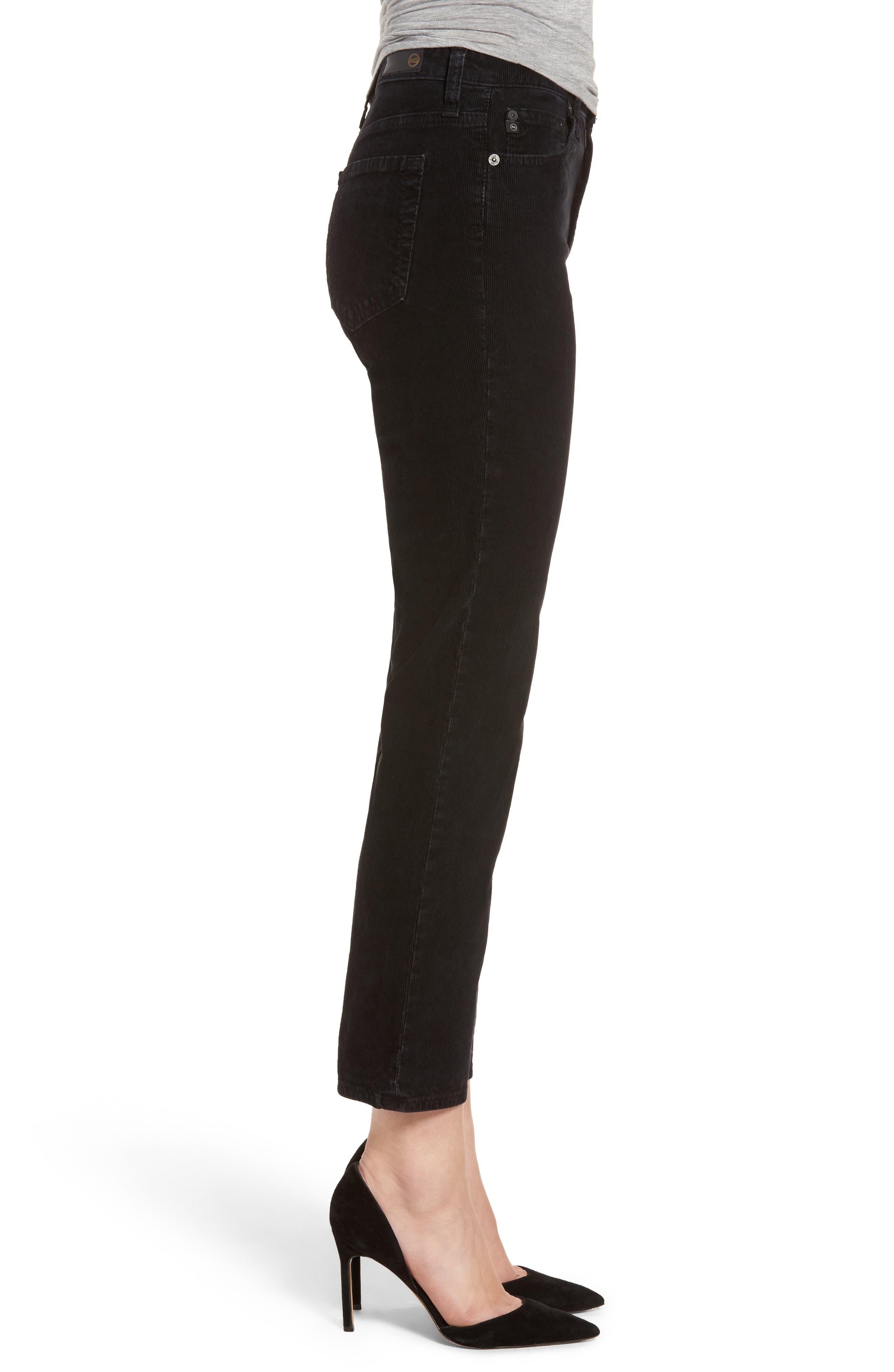 Isabelle High Waist Corduroy Jeans,                             Alternate thumbnail 3, color,