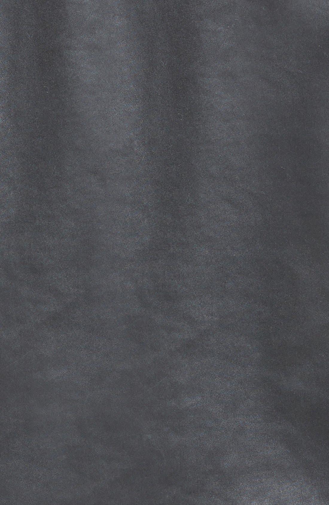The Moto Coated Denim Jacket,                             Alternate thumbnail 5, color,                             012