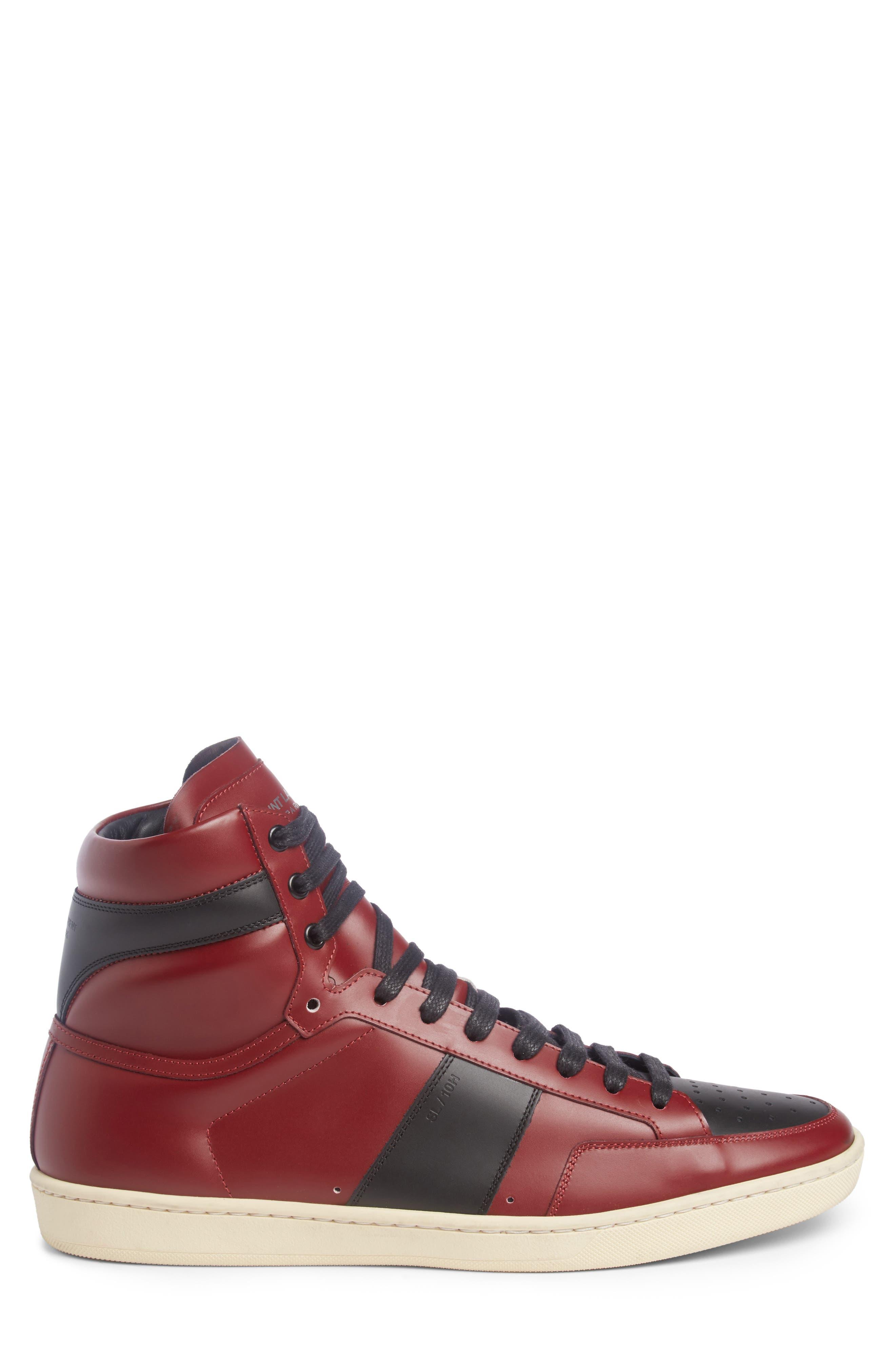 SL/10H Signature Court Classic High-Top Sneaker,                             Alternate thumbnail 3, color,                             602