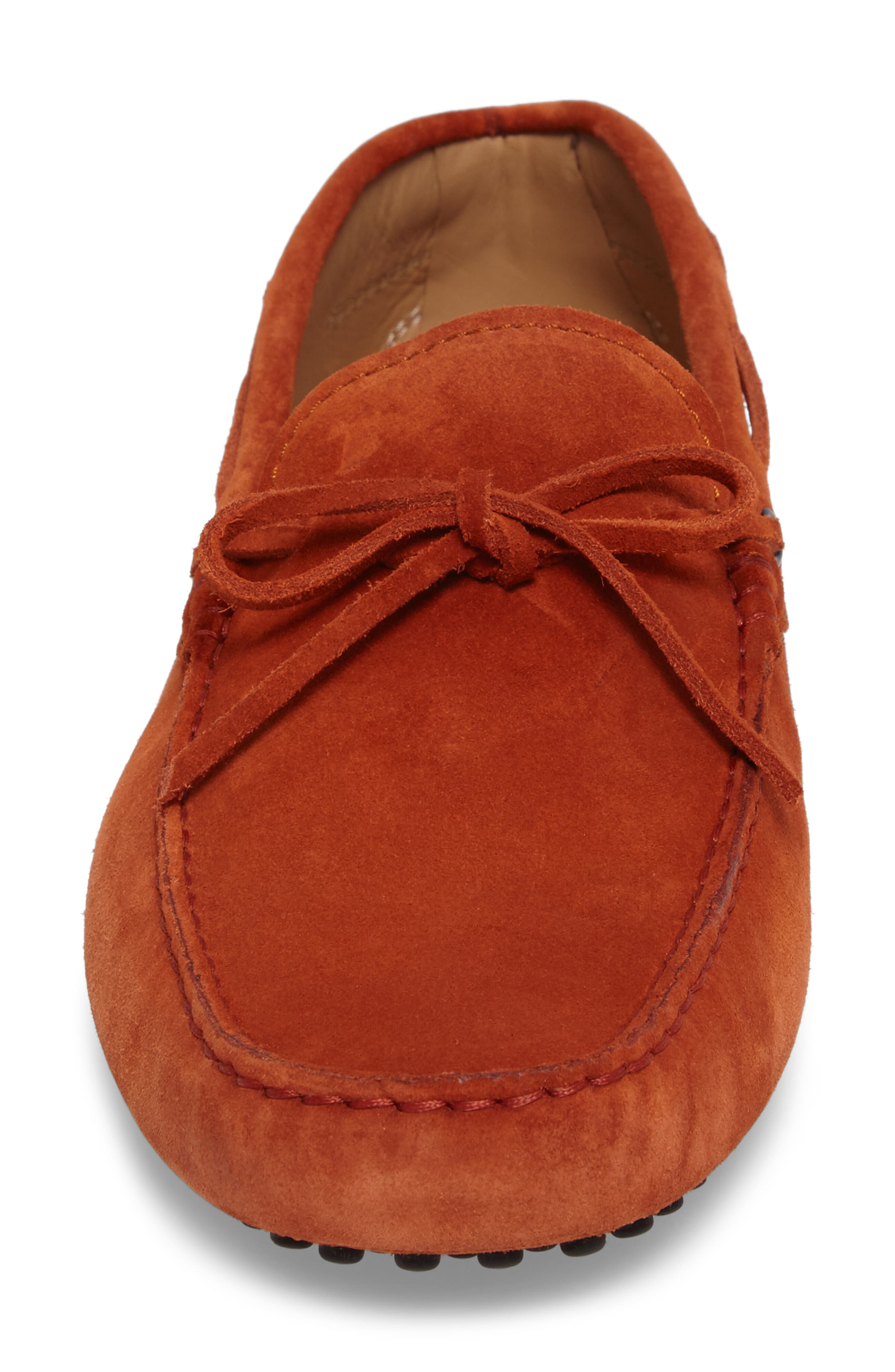 Gommini Tie Front Driving Moccasin,                             Alternate thumbnail 85, color,