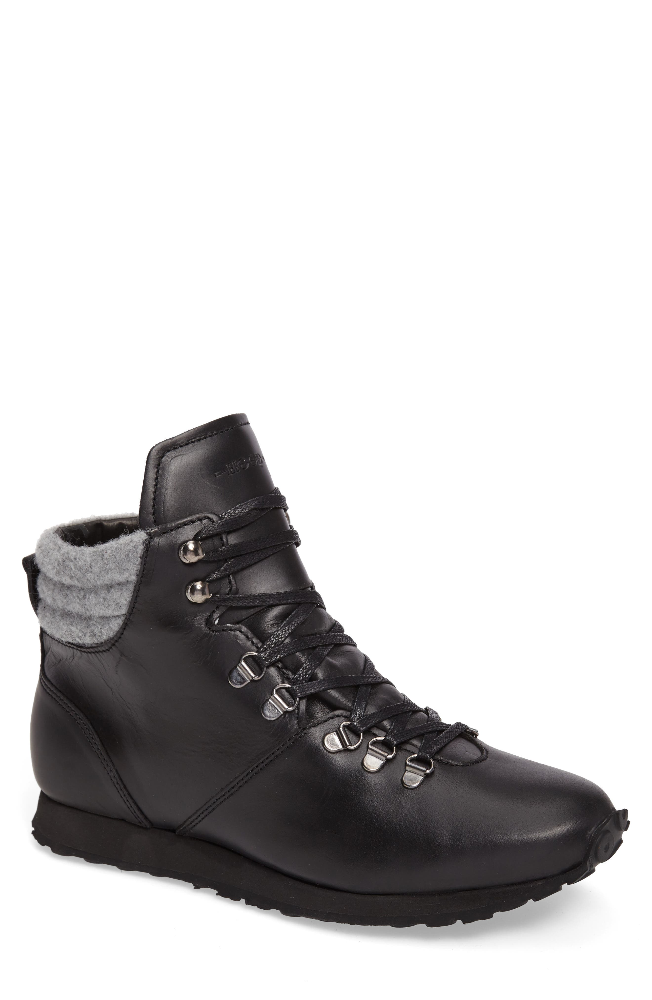 Concord Mid Top Wool Cuffed Waterproof Boot,                         Main,                         color,