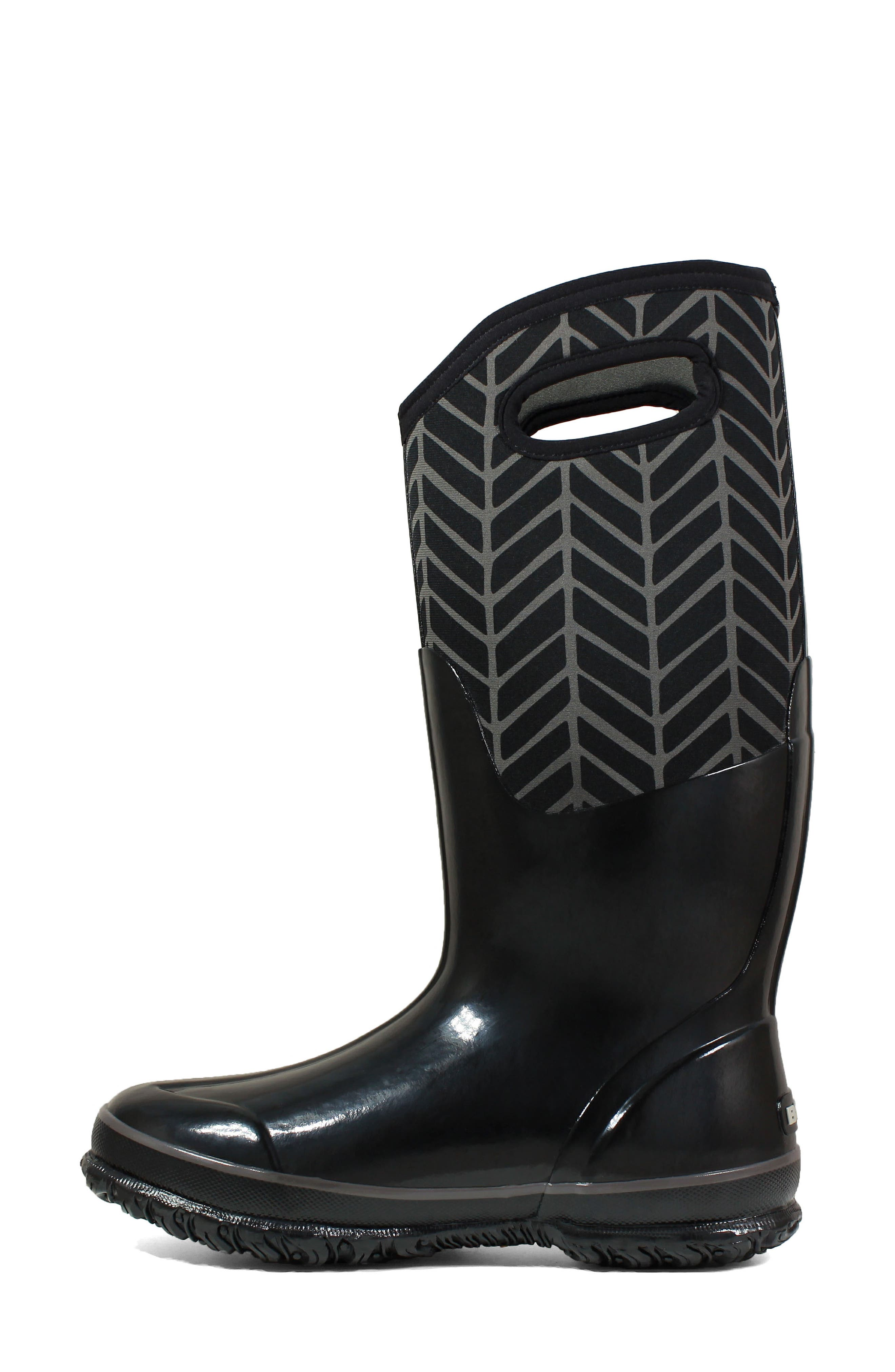 BOGS,                             Classic Tall Badge Waterproof Snow Boot,                             Alternate thumbnail 8, color,                             009