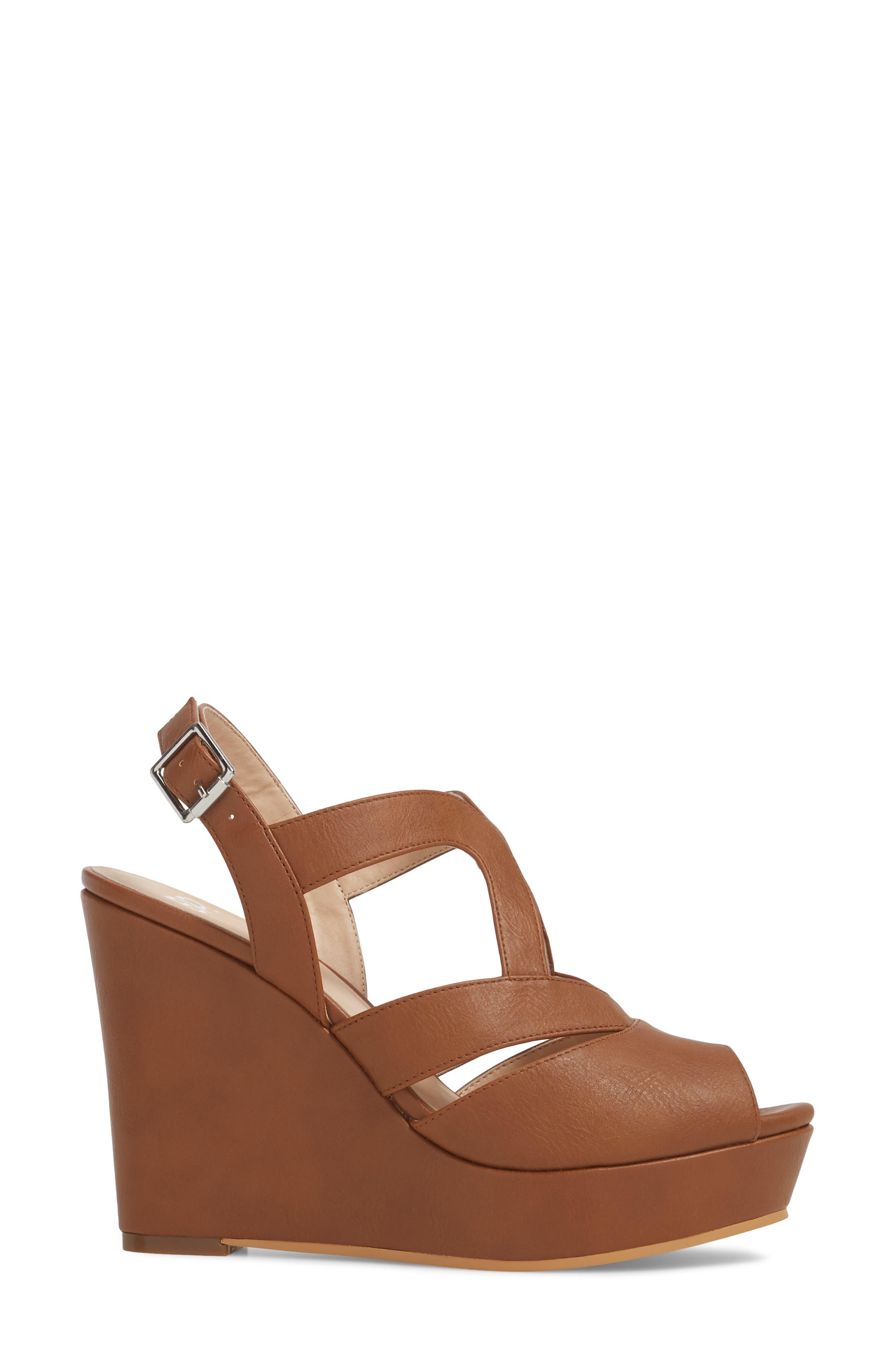 Sunny Platform Wedge Sandal,                             Alternate thumbnail 16, color,