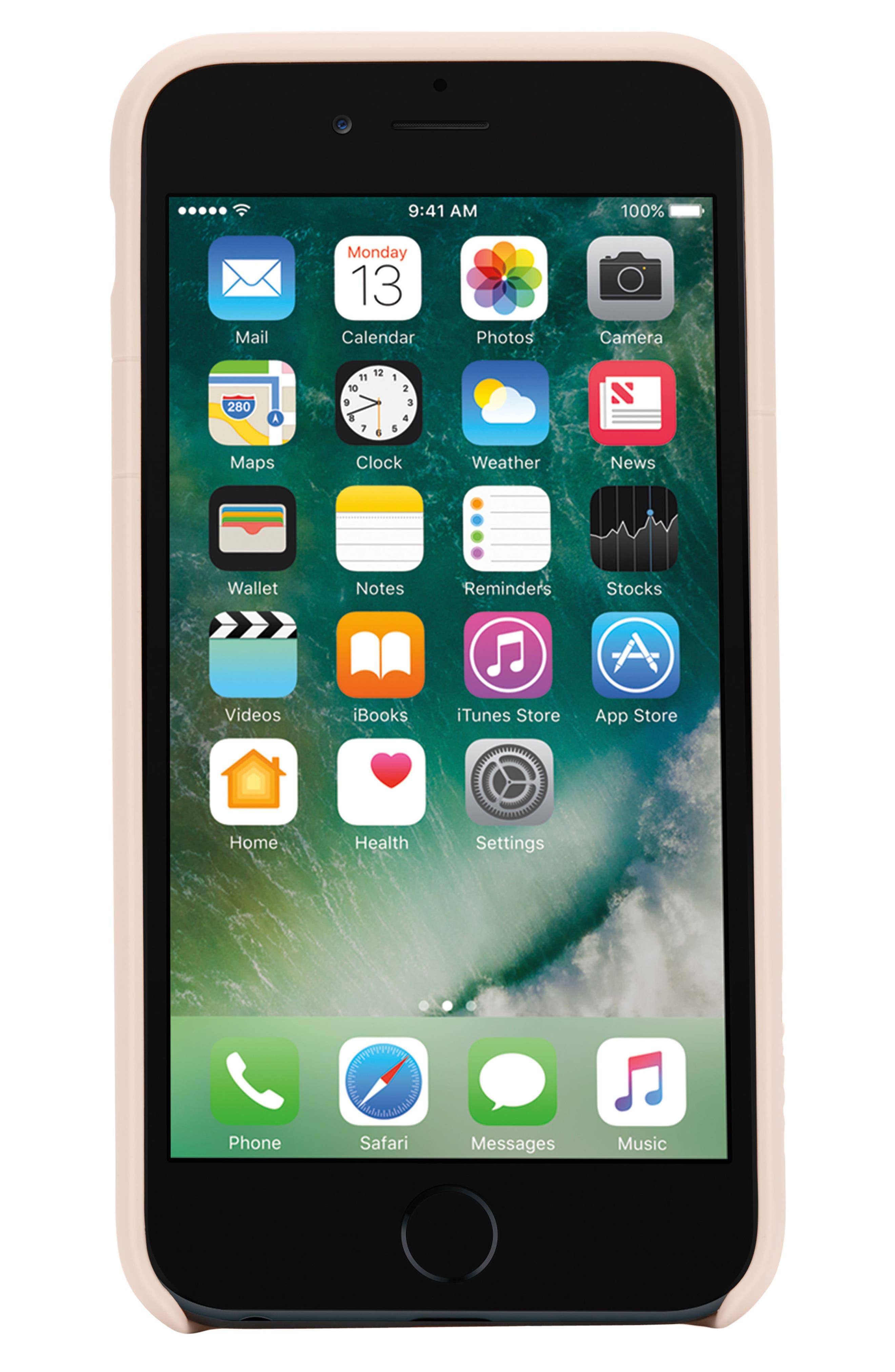 Facet iPhone 7 Plus/8 Plus Case,                             Alternate thumbnail 3, color,                             ROSE GOLD