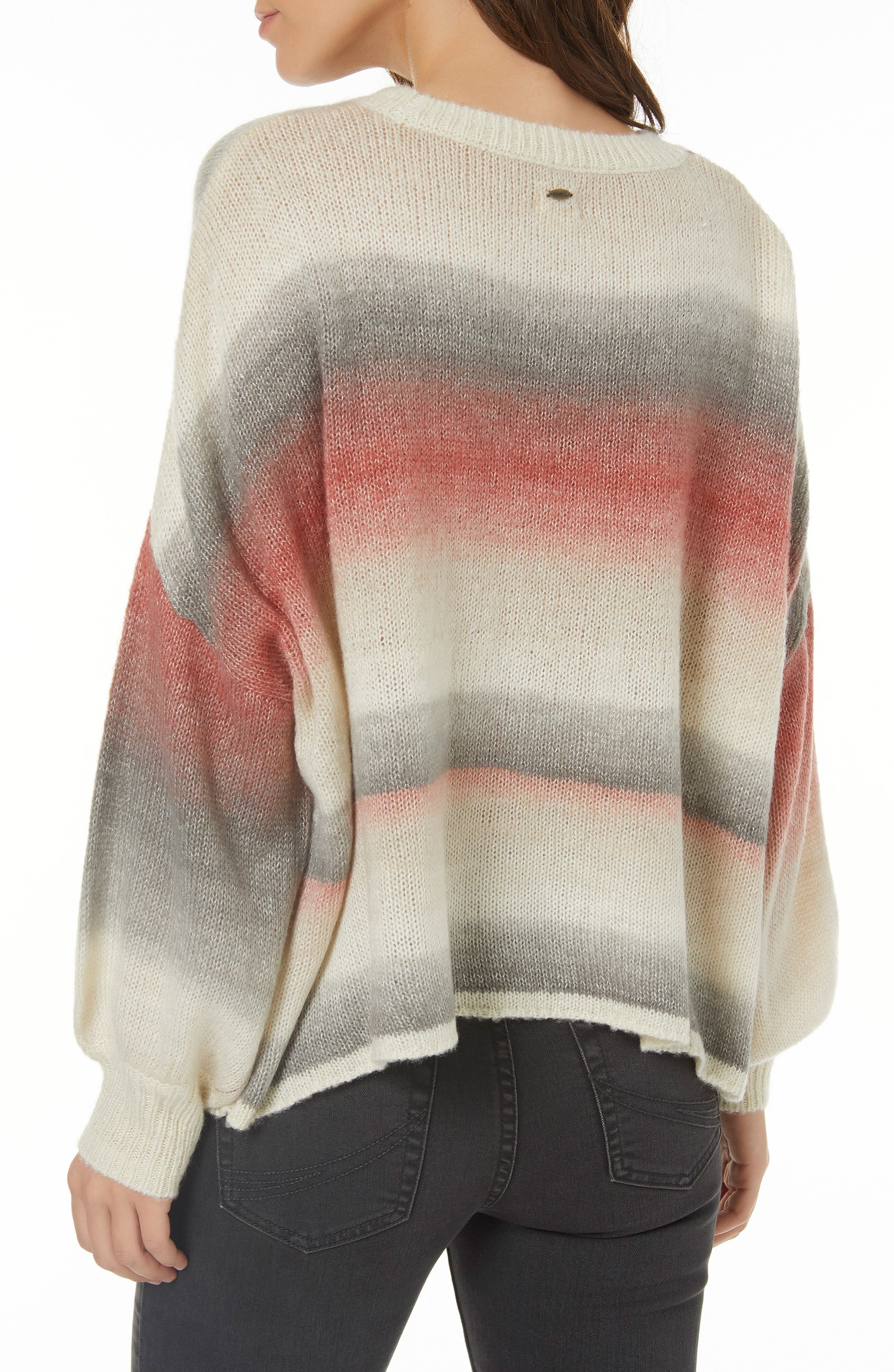 Sand Dune Stripe Knit Pullover,                             Alternate thumbnail 2, color,                             MULTI COLORED